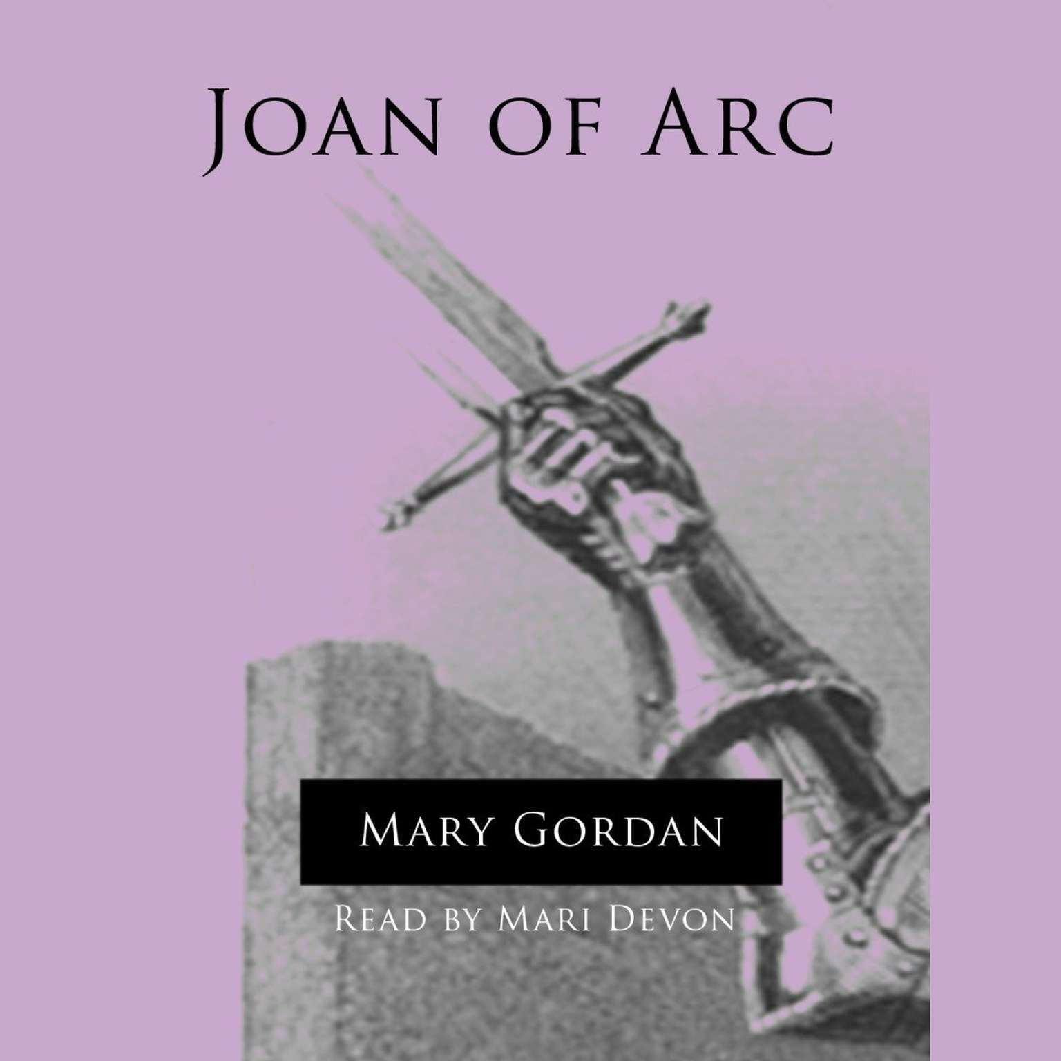 Printable Joan of Arc Audiobook Cover Art