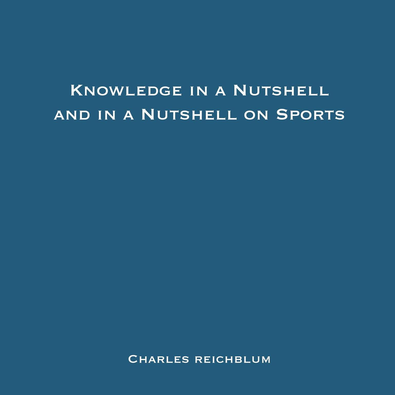 Printable Knowledge in a Nutshell and Knowledge in a Nutshell on Sports Audiobook Cover Art