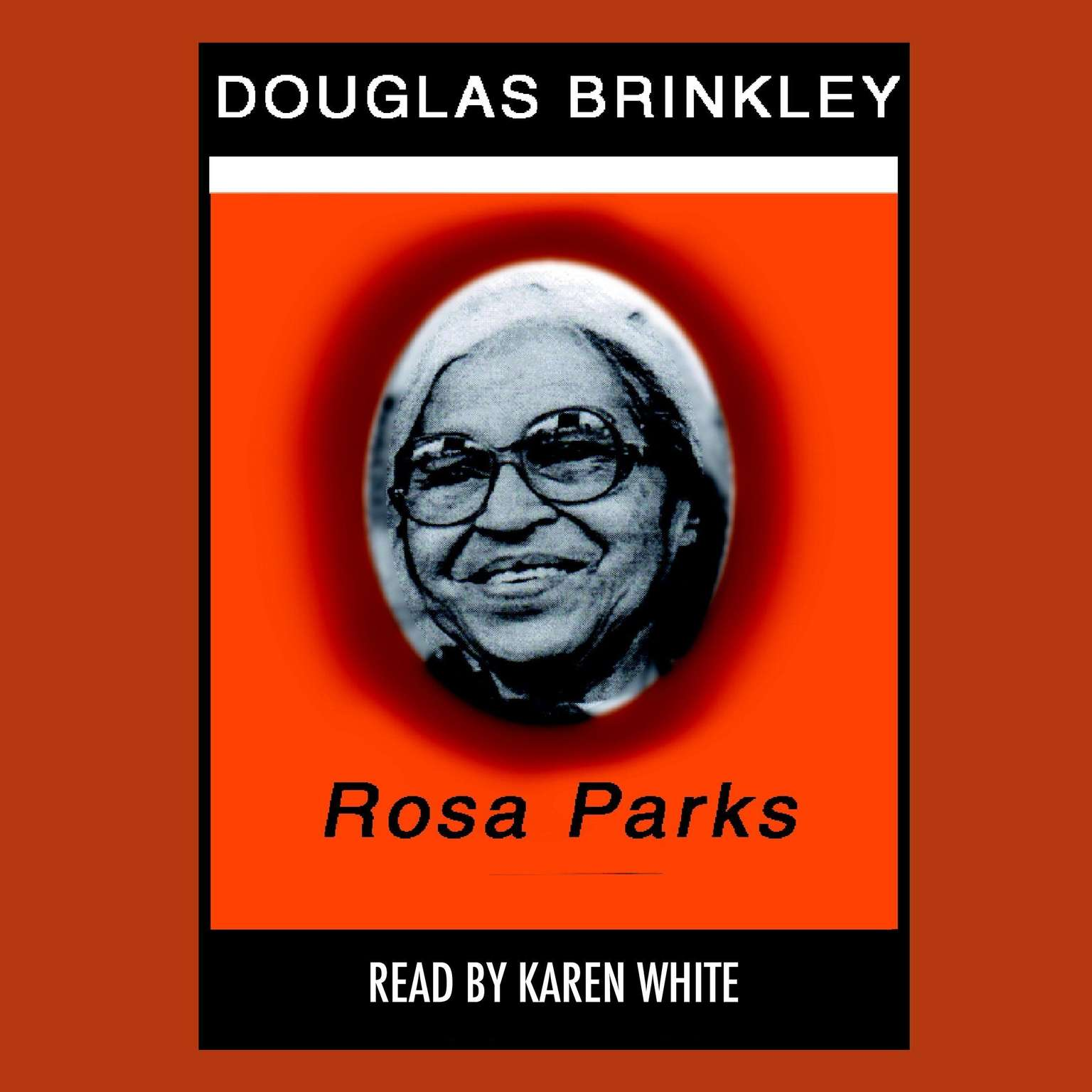 Printable Rosa Parks Audiobook Cover Art