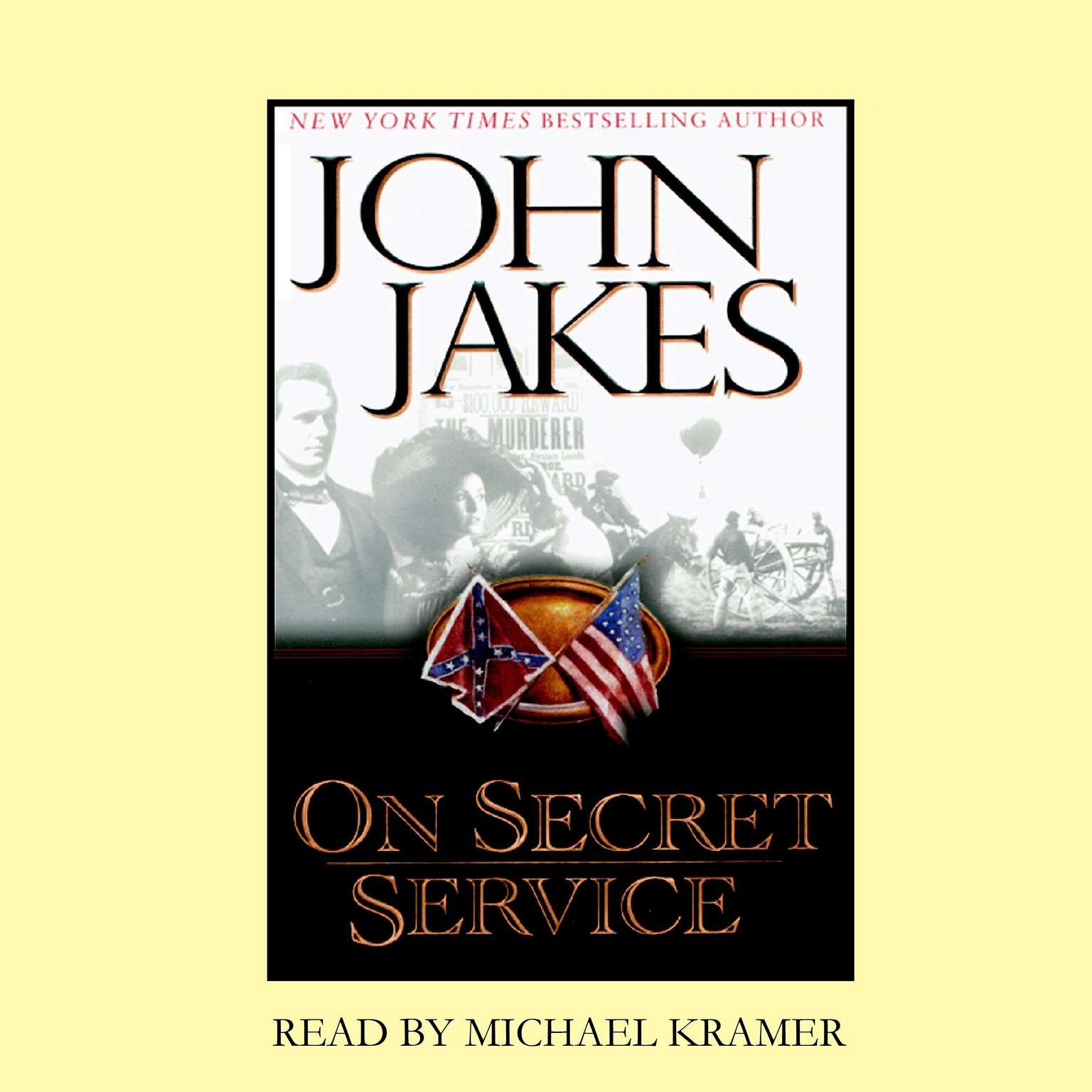 Printable On Secret Service Audiobook Cover Art