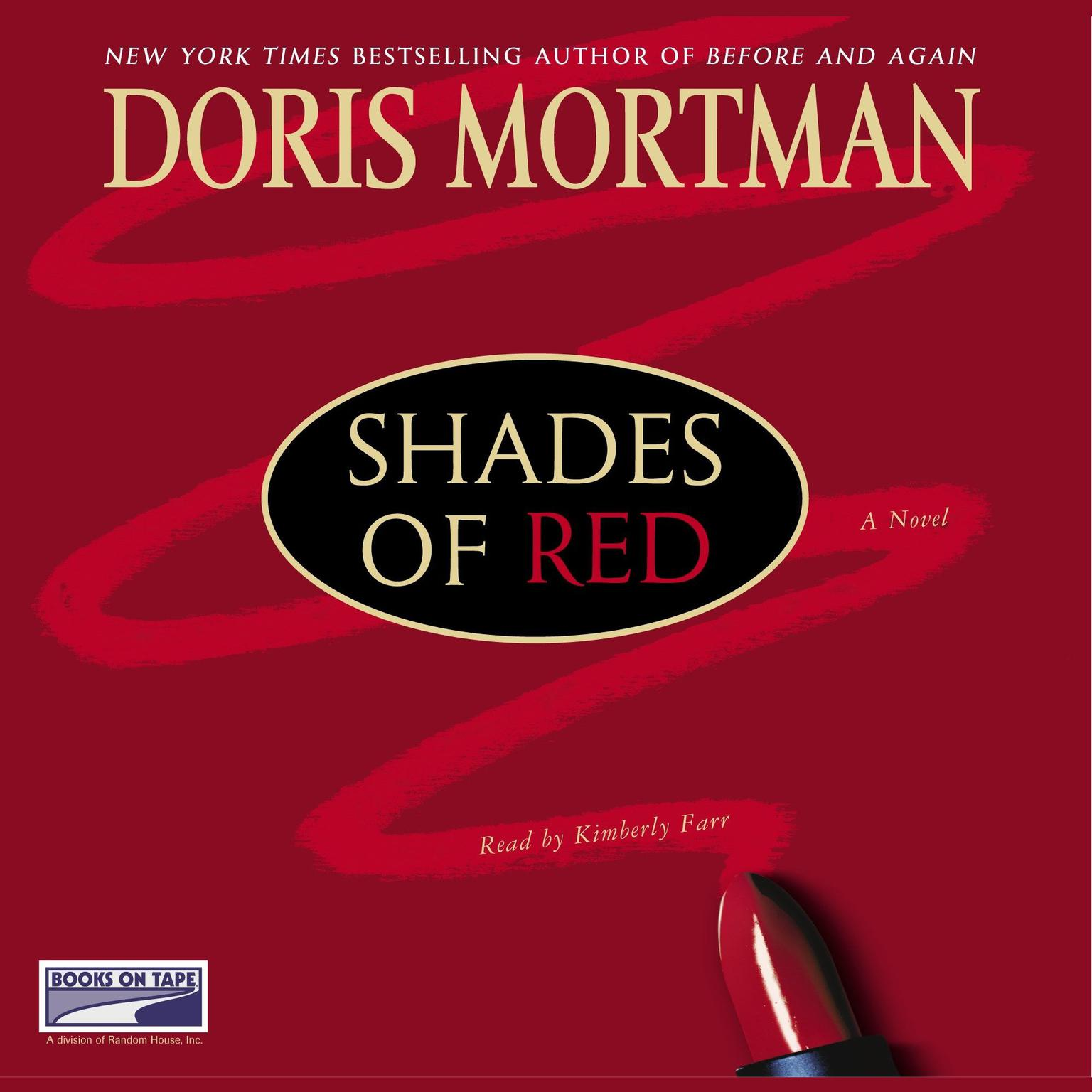 Printable Shades of Red Audiobook Cover Art