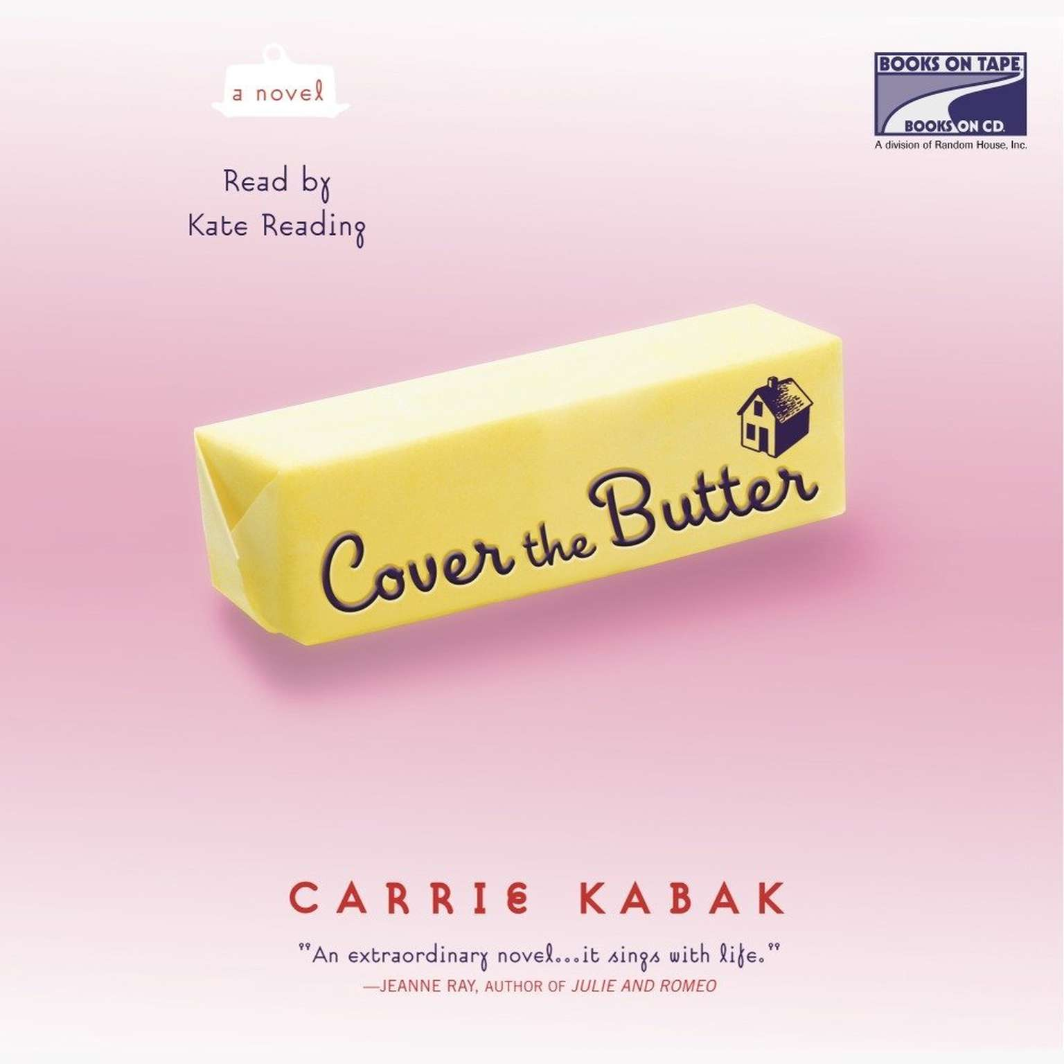 Cover the Butter Audiobook, by Carrie Kabak