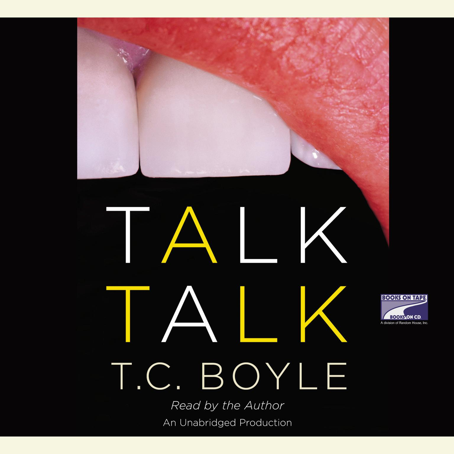 Printable Talk Talk Audiobook Cover Art