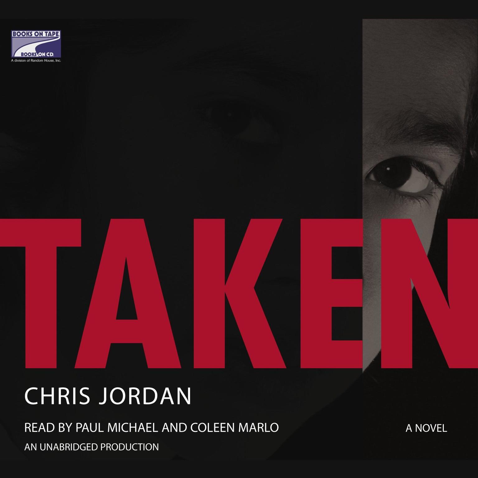 Printable Taken Audiobook Cover Art