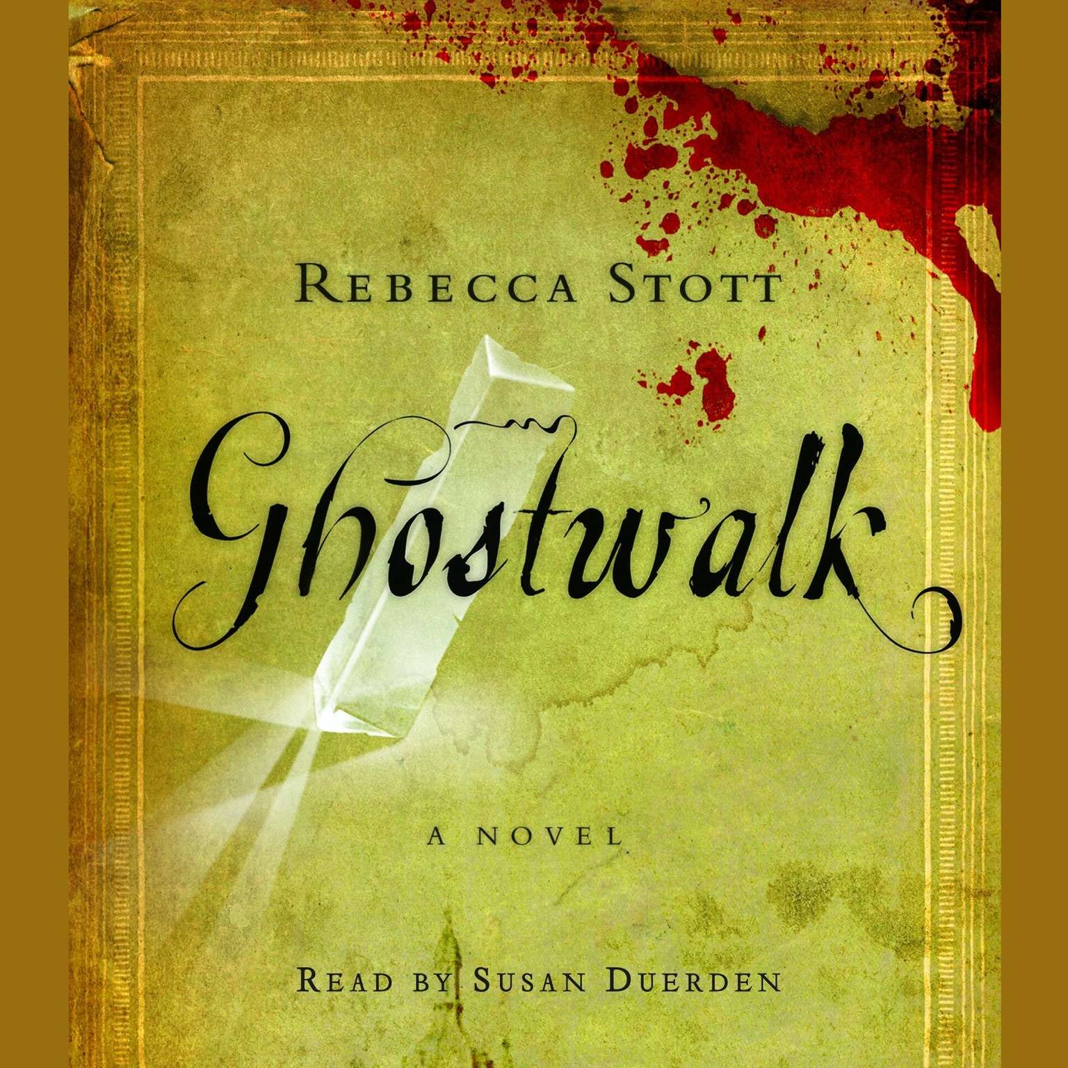 Printable Ghostwalk Audiobook Cover Art
