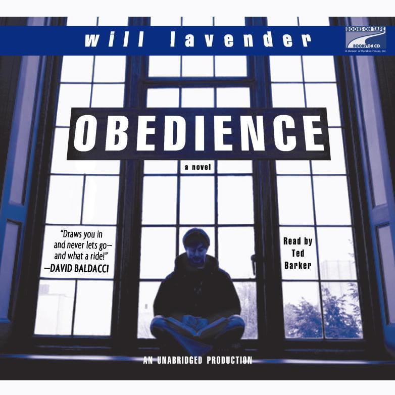 Printable Obedience Audiobook Cover Art