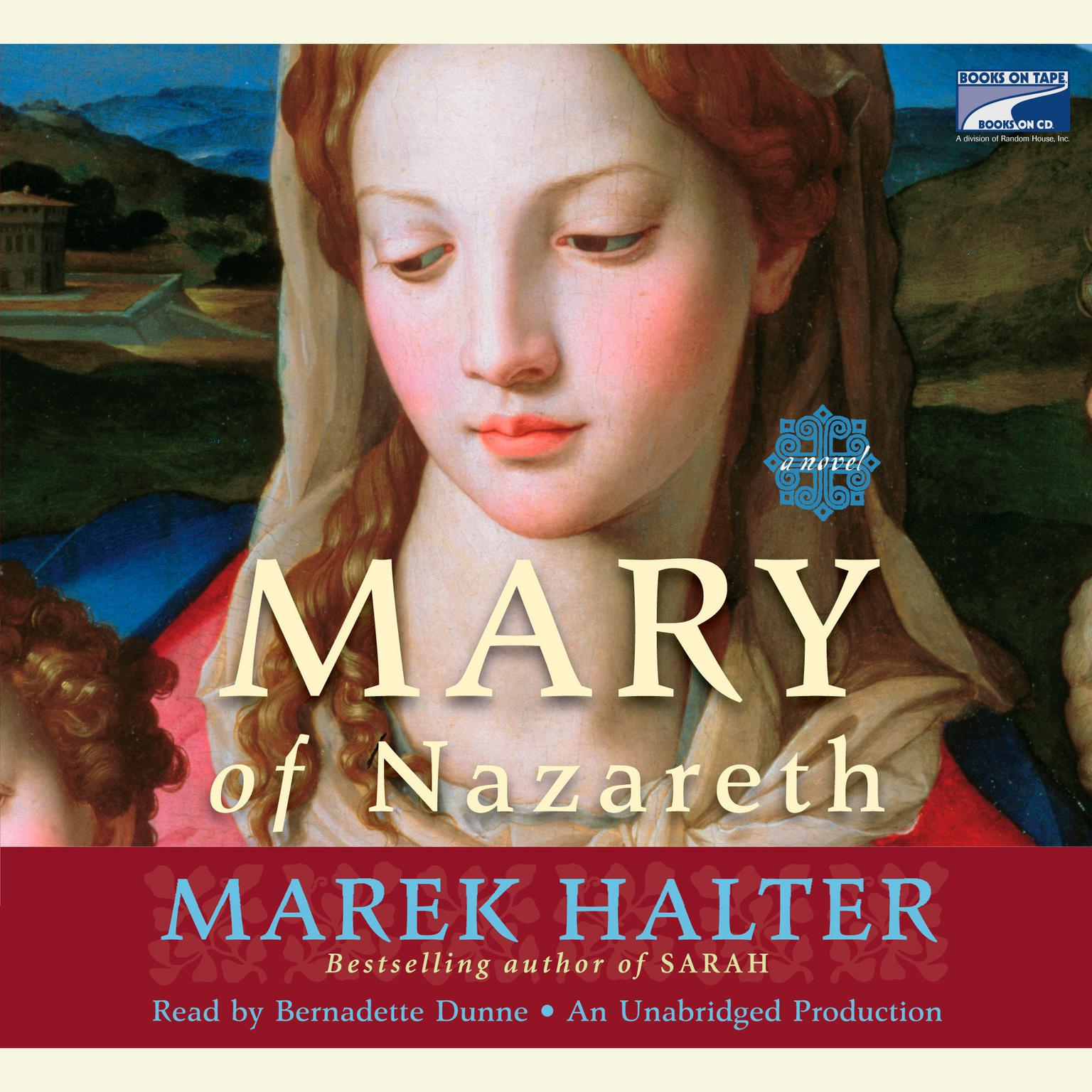Printable Mary of Nazareth: A Novel Audiobook Cover Art
