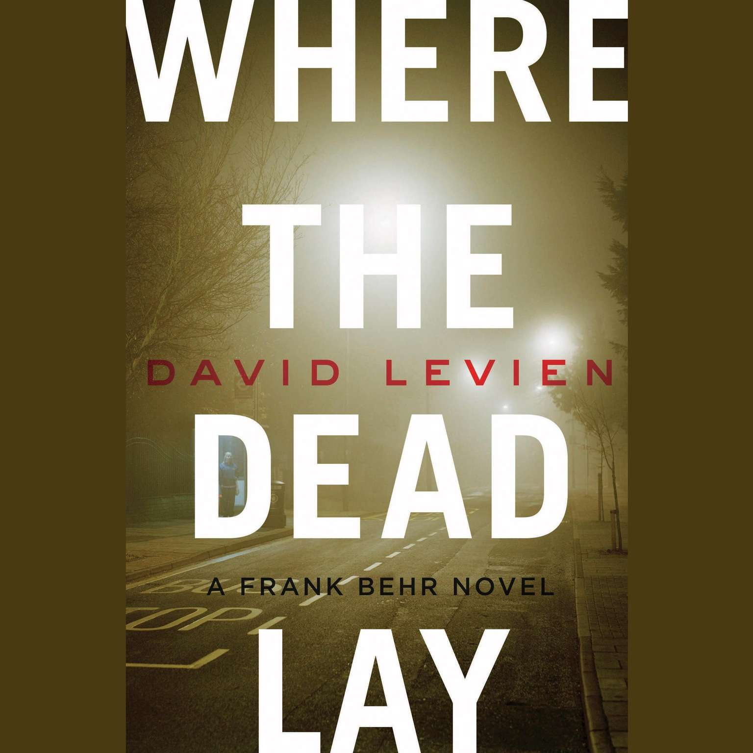 Printable Where the Dead Lay Audiobook Cover Art