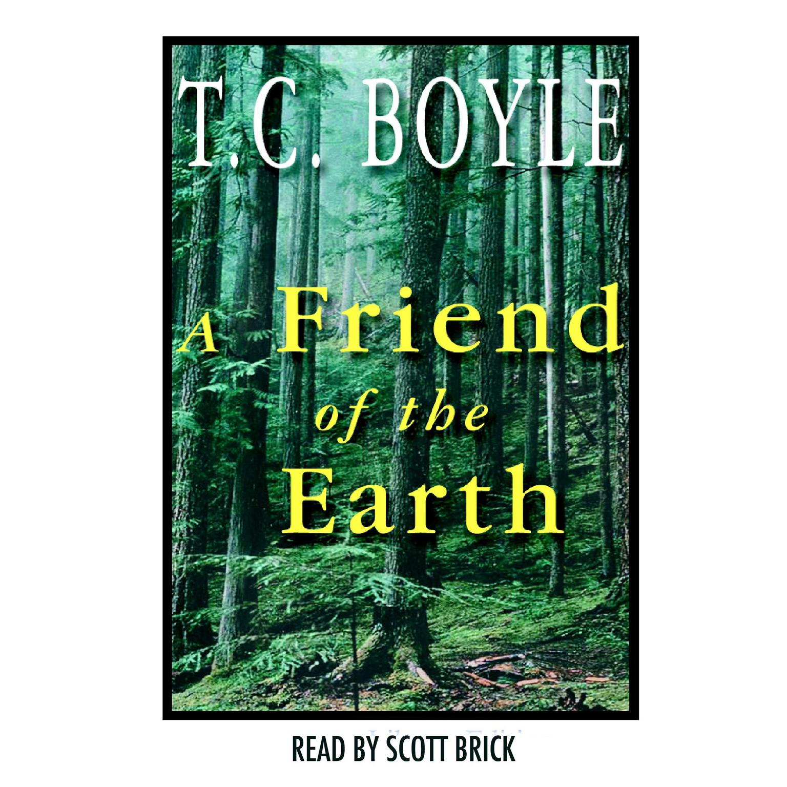 Printable A Friend of the Earth Audiobook Cover Art