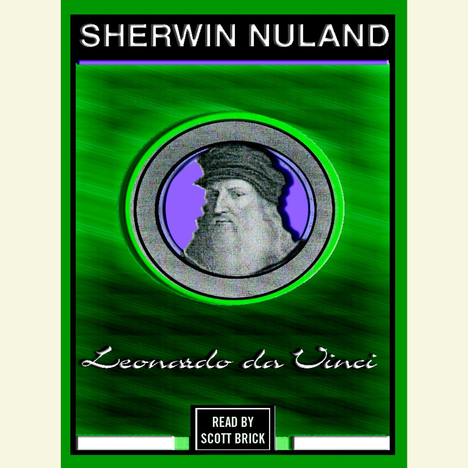 Printable Leonardo Da Vinci Audiobook Cover Art