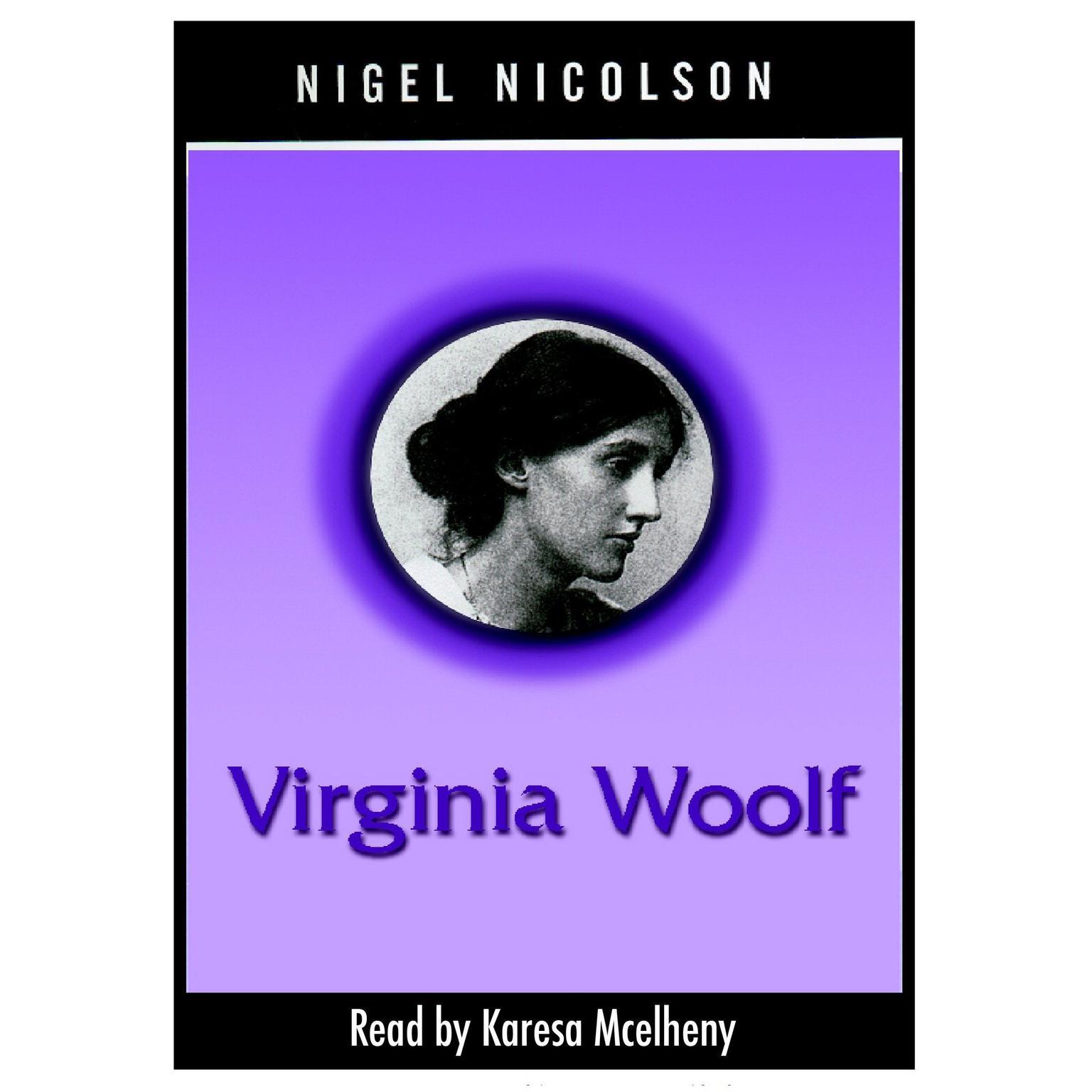 Printable Virginia Woolf Audiobook Cover Art