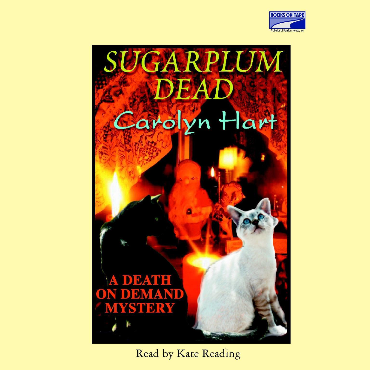 Printable Sugarplum Dead Audiobook Cover Art