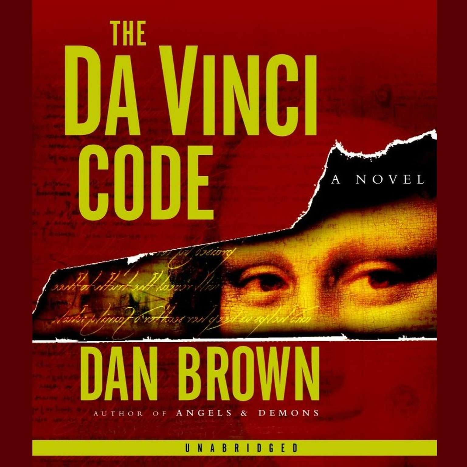 Printable The Da Vinci Code Audiobook Cover Art