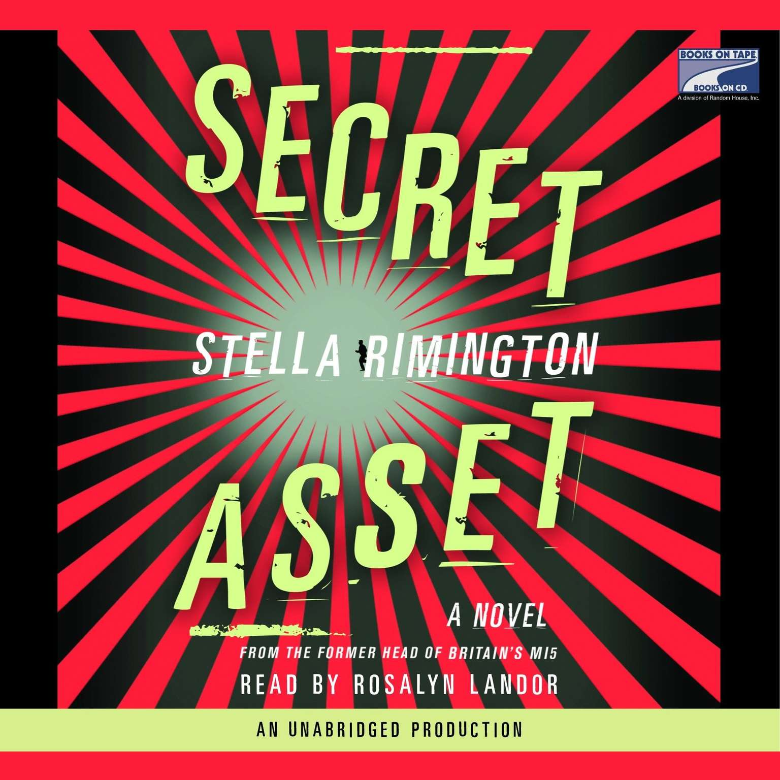 Printable Secret Asset Audiobook Cover Art