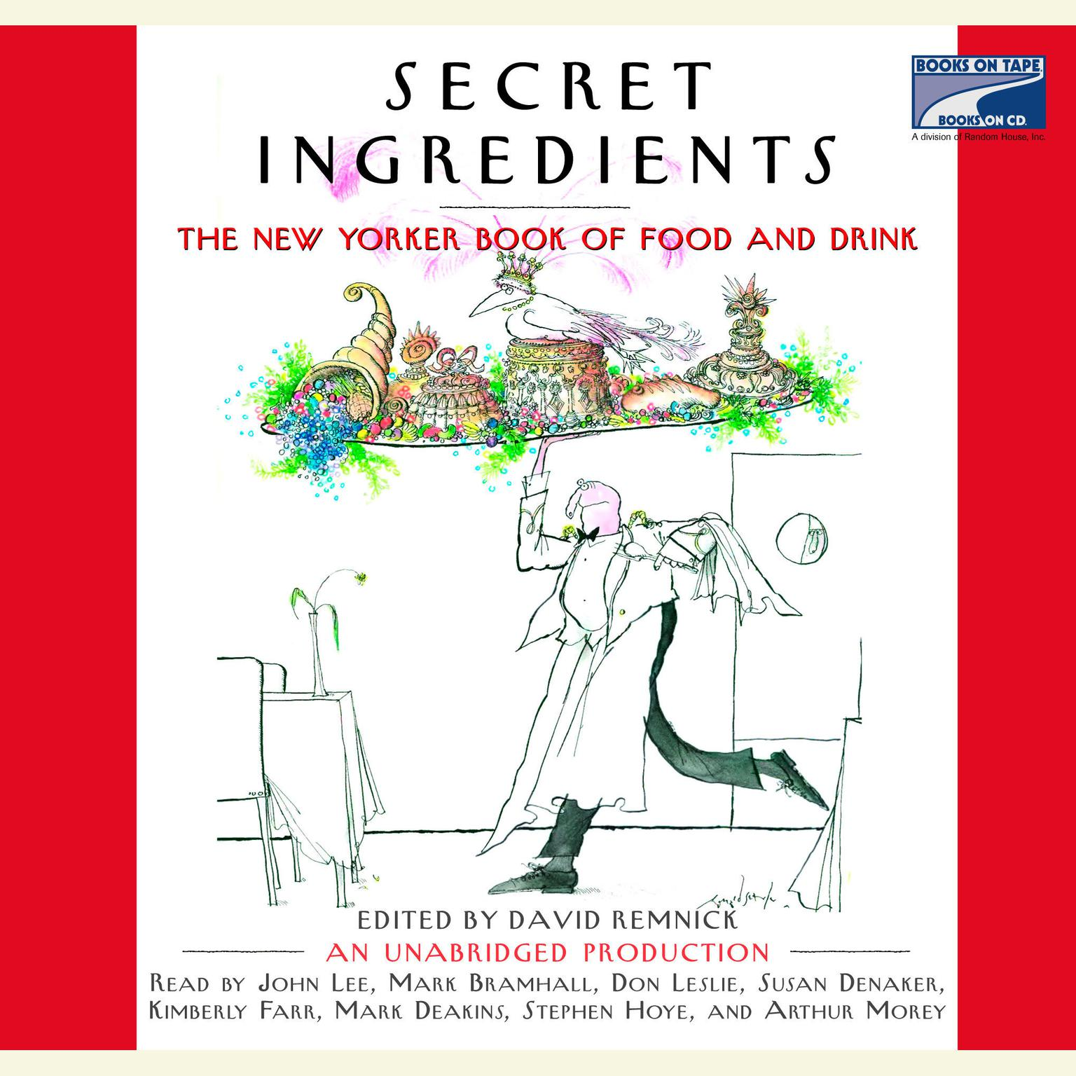 Printable Secret Ingredients: The New Yorker Book of Food and Drink Audiobook Cover Art