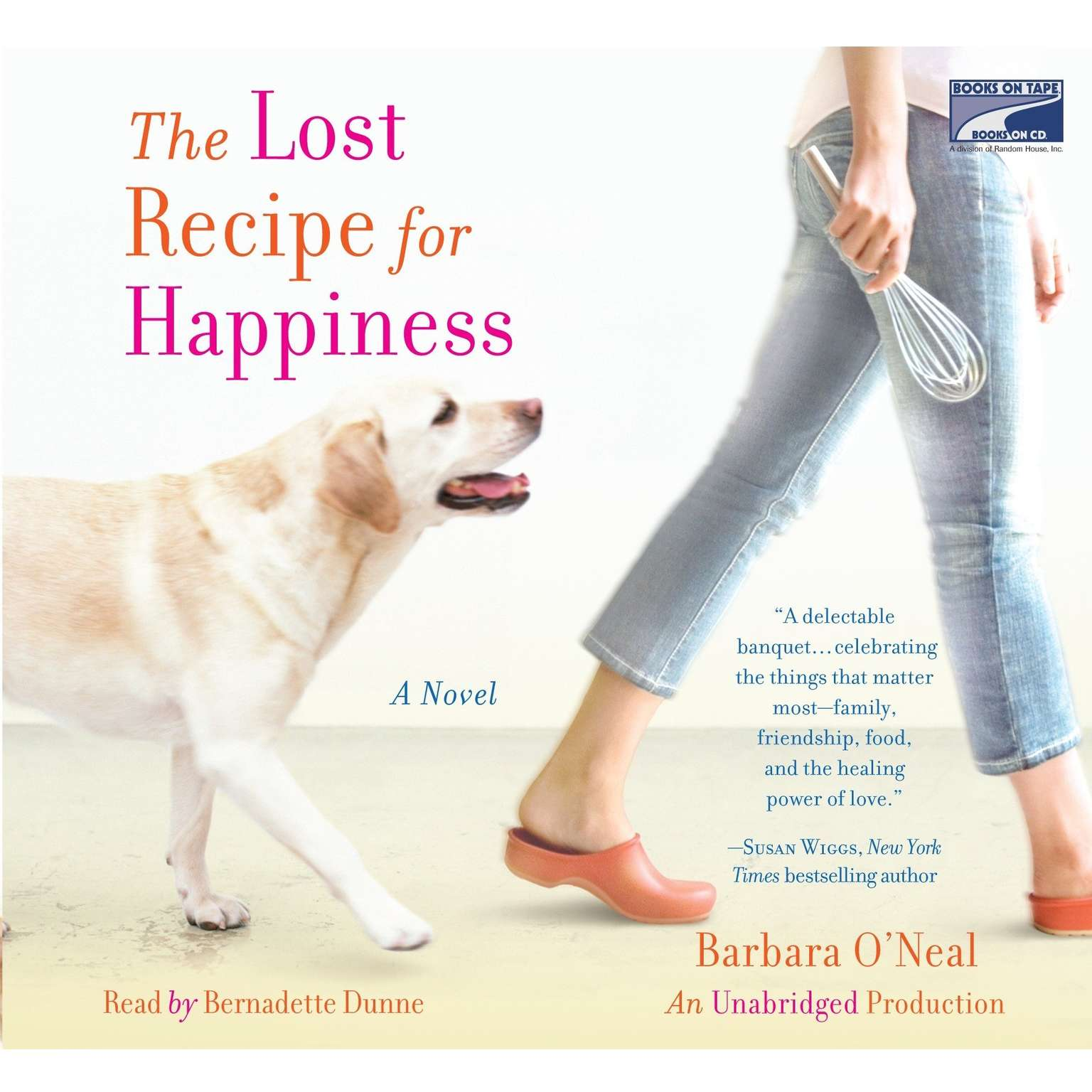 Printable The Lost Recipe for Happiness Audiobook Cover Art