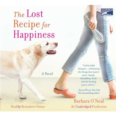 The Lost Recipe for Happiness Audiobook, by Barbara O'Neal