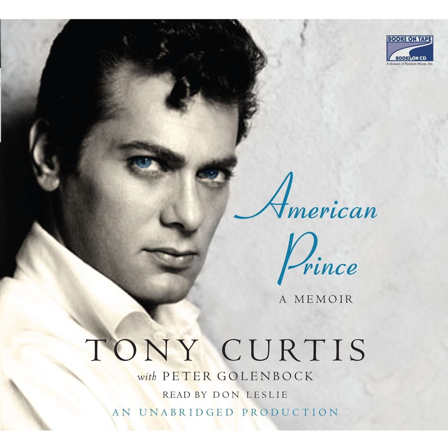Printable American Prince Audiobook Cover Art