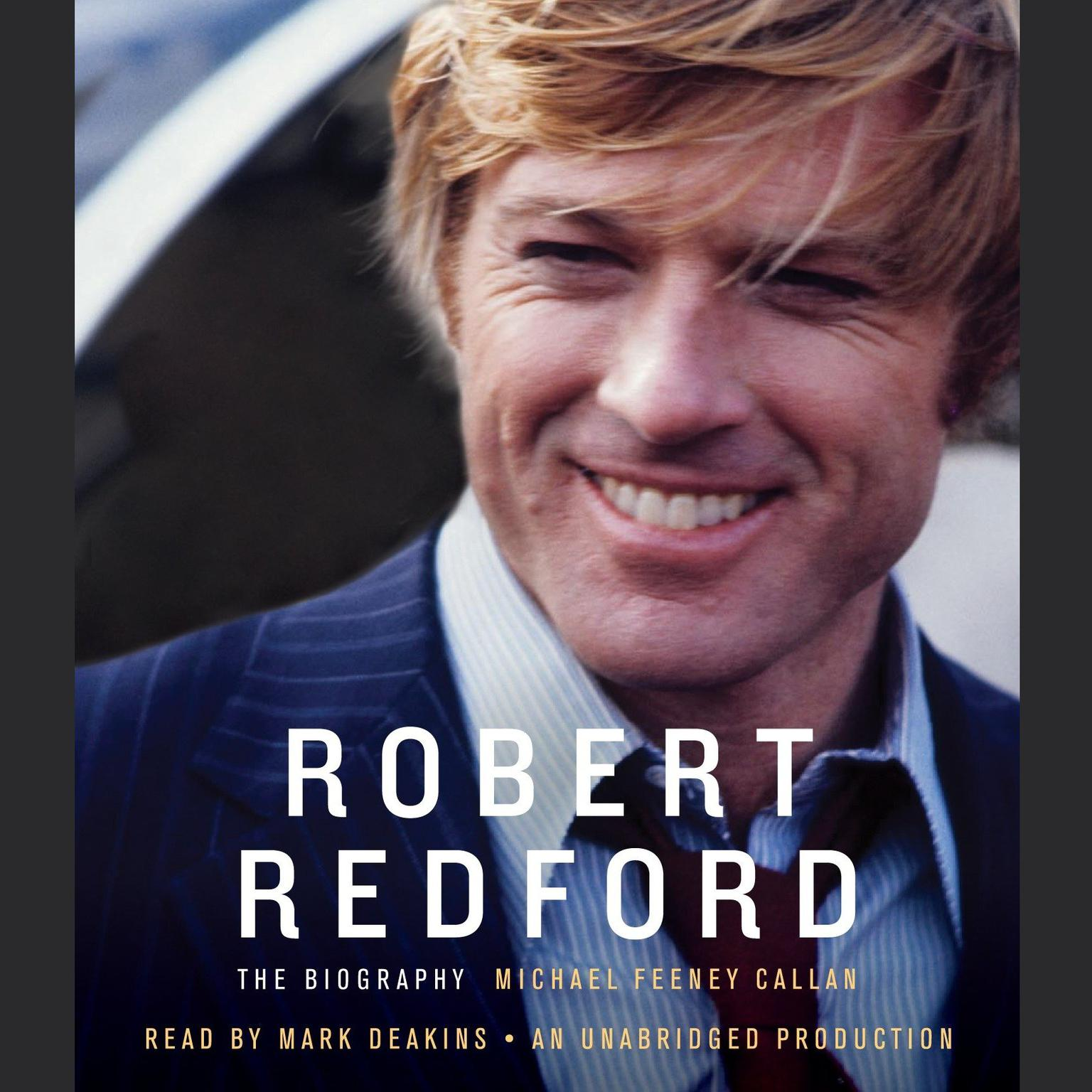 Printable Robert Redford: The Biography Audiobook Cover Art