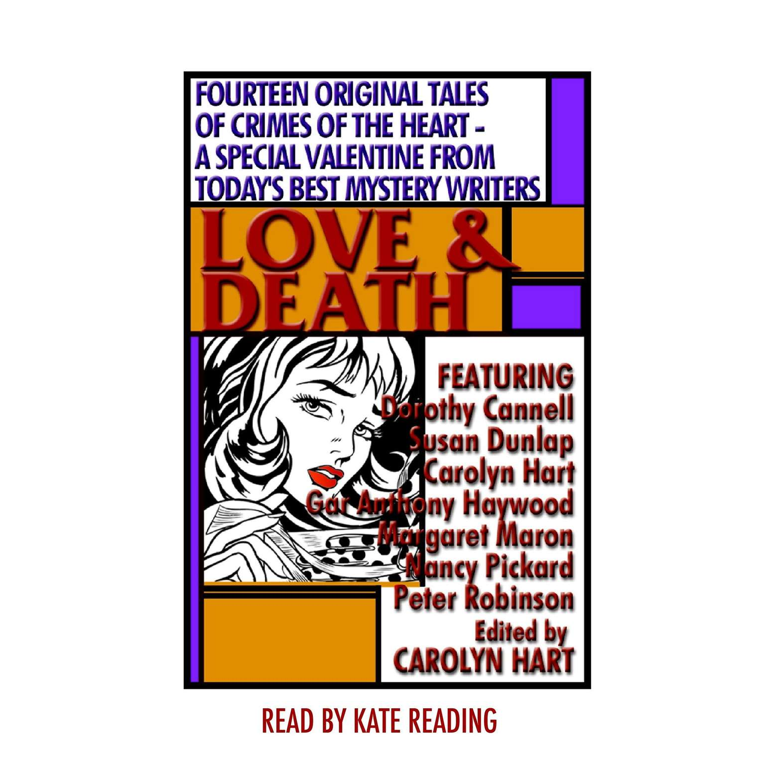 Printable Love and Death Audiobook Cover Art