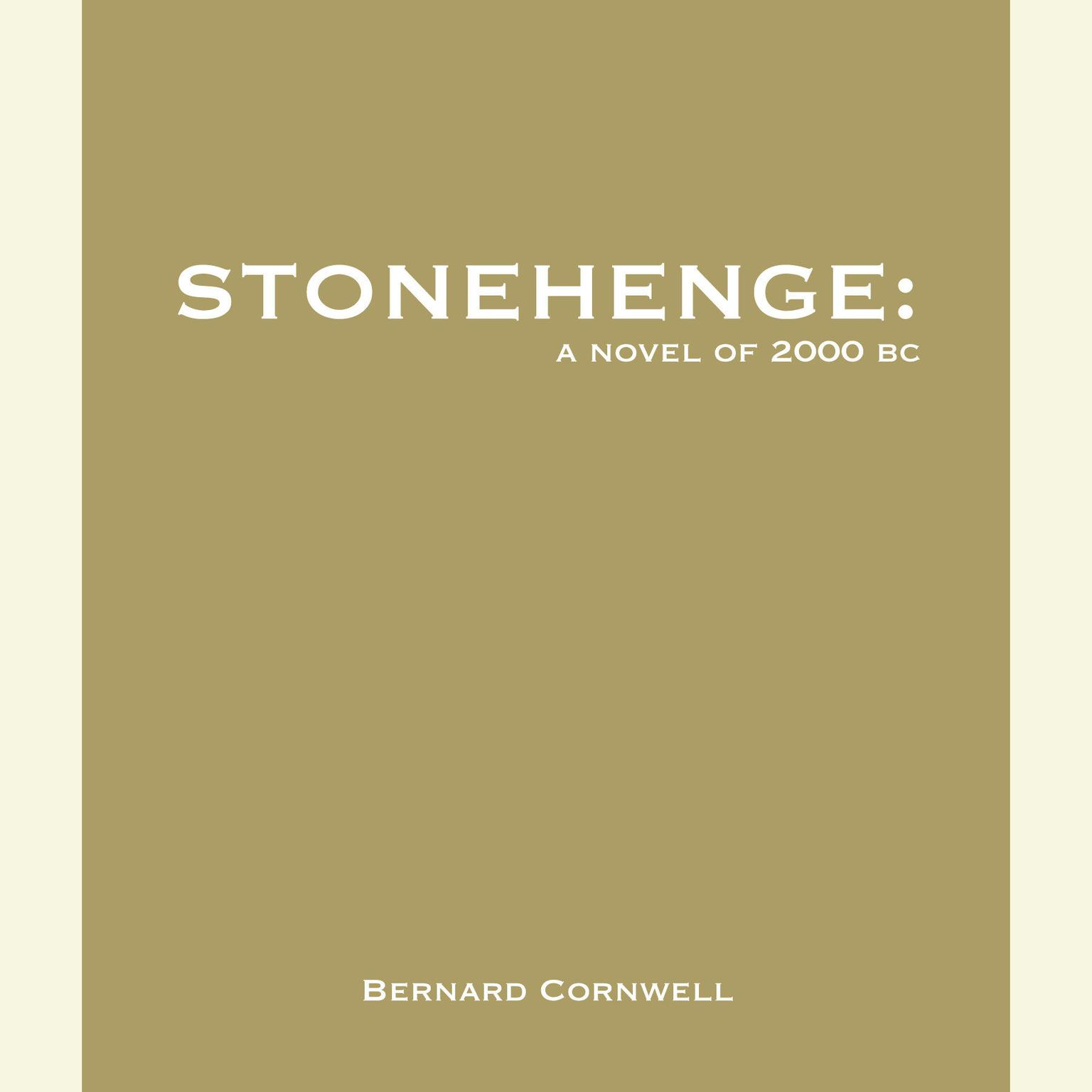 Printable Stonehenge: A Novel of 2000 BC: A Novel of 2000 BC Audiobook Cover Art