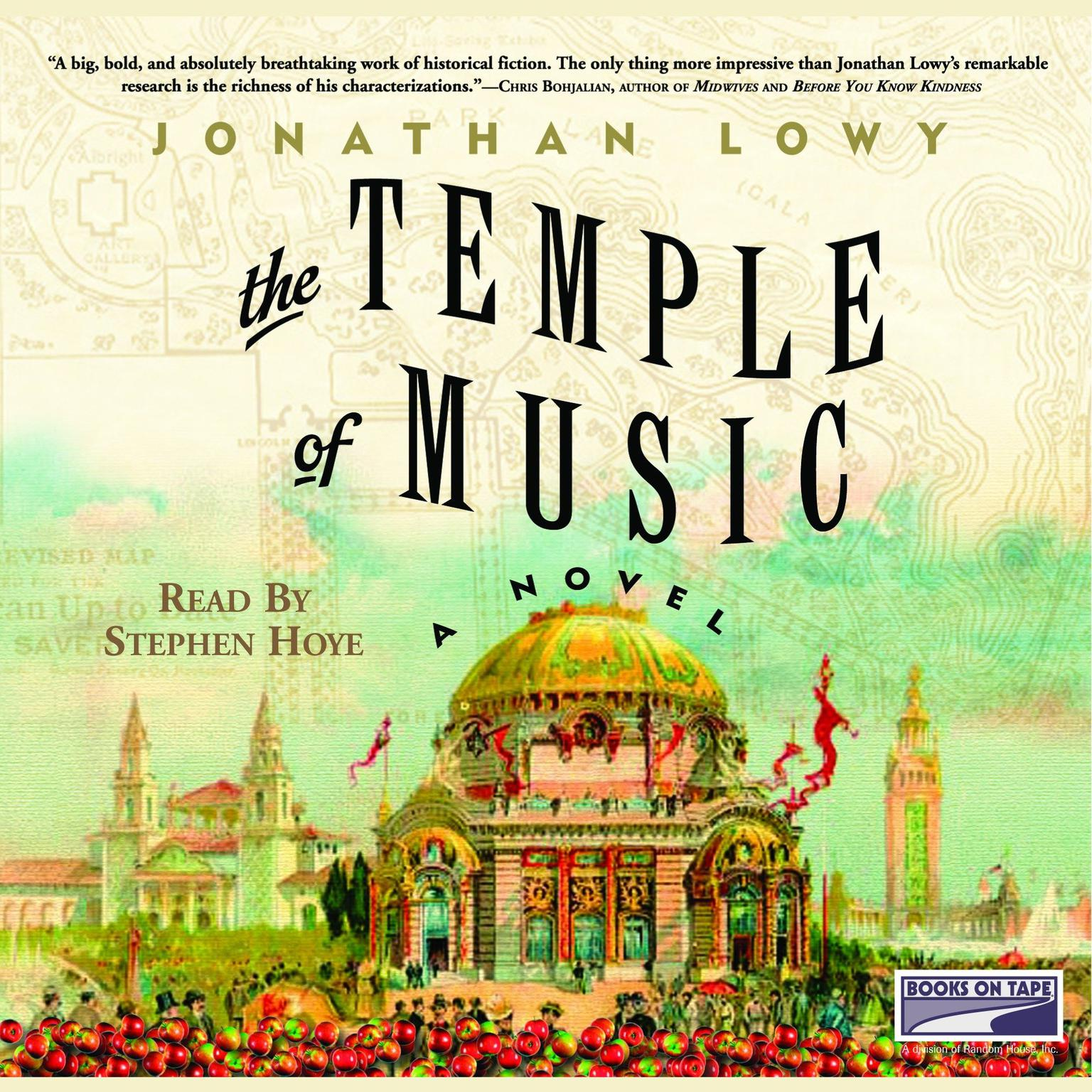 Printable The Temple of Music: A Novel Audiobook Cover Art