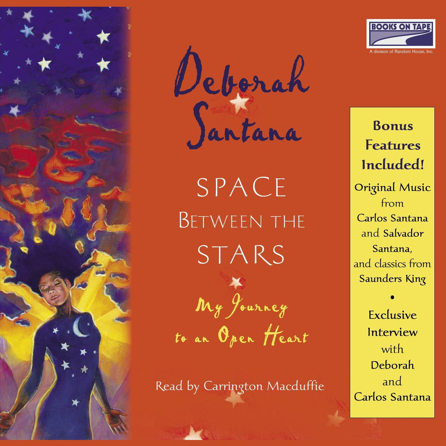 Printable Space Between the Stars: My Journey to an Open Heart Audiobook Cover Art
