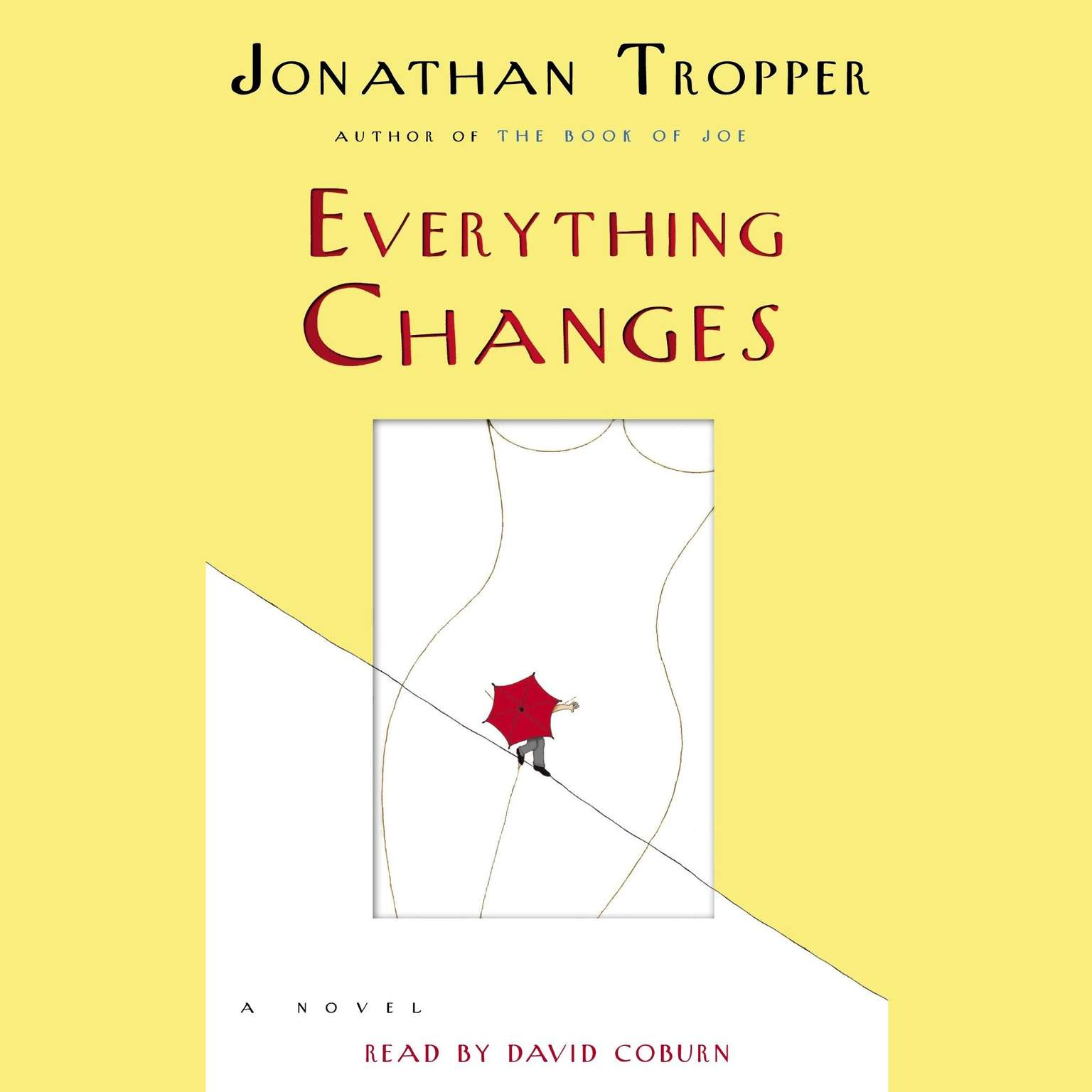 Printable Everything Changes: A Novel Audiobook Cover Art