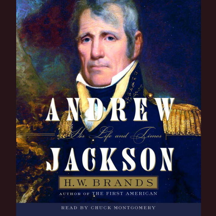 Printable Andrew Jackson (Part A): His Life and Times Audiobook Cover Art