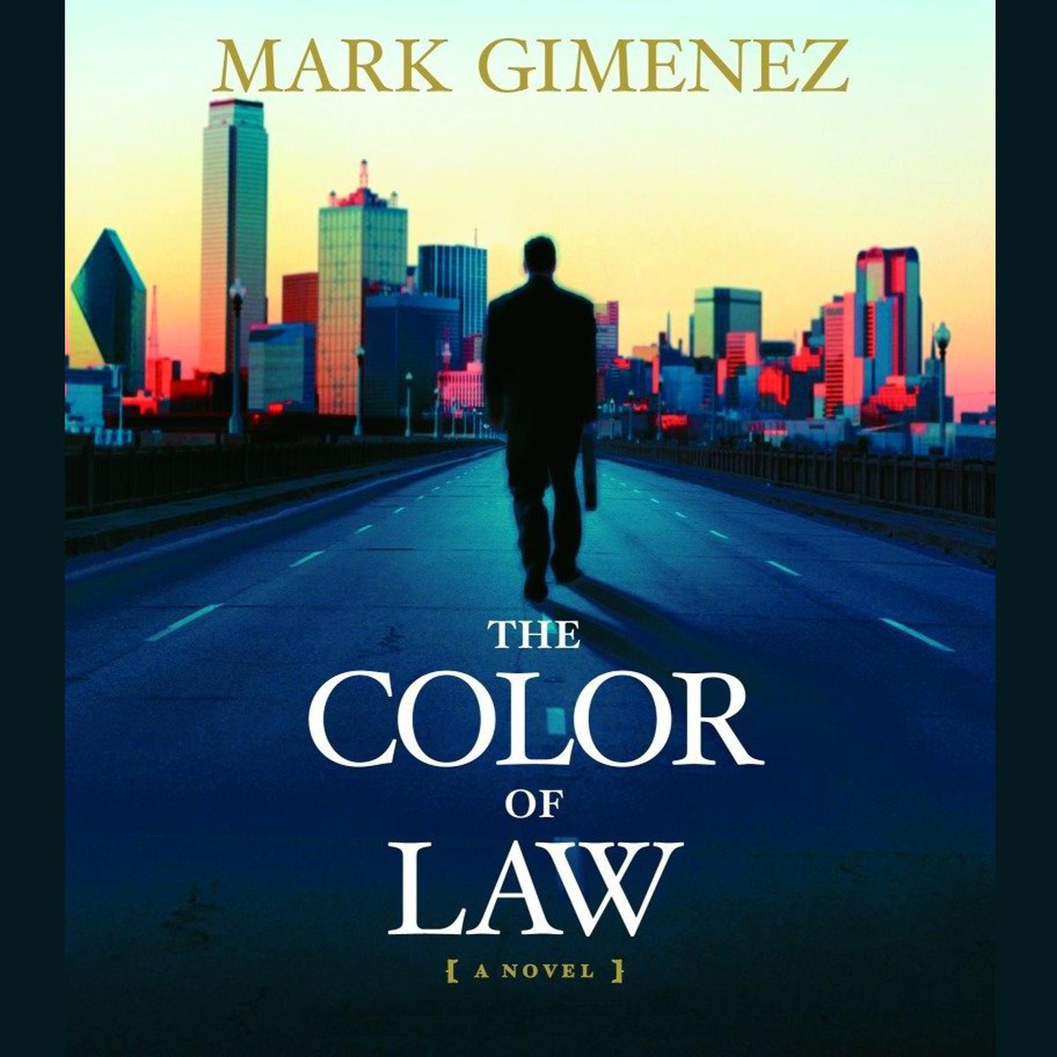 Printable The Color of Law: A Novel Audiobook Cover Art