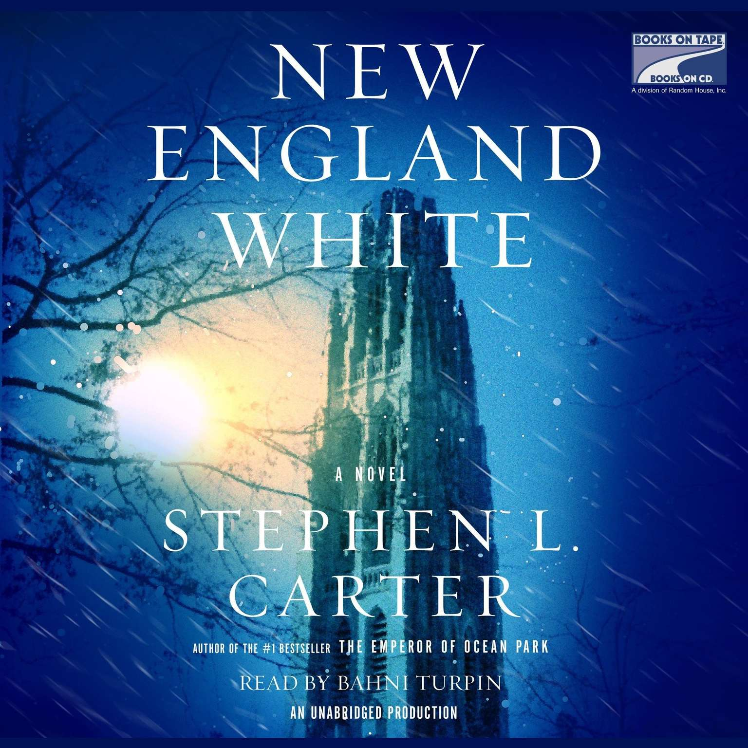 Printable New England White: A Novel Audiobook Cover Art