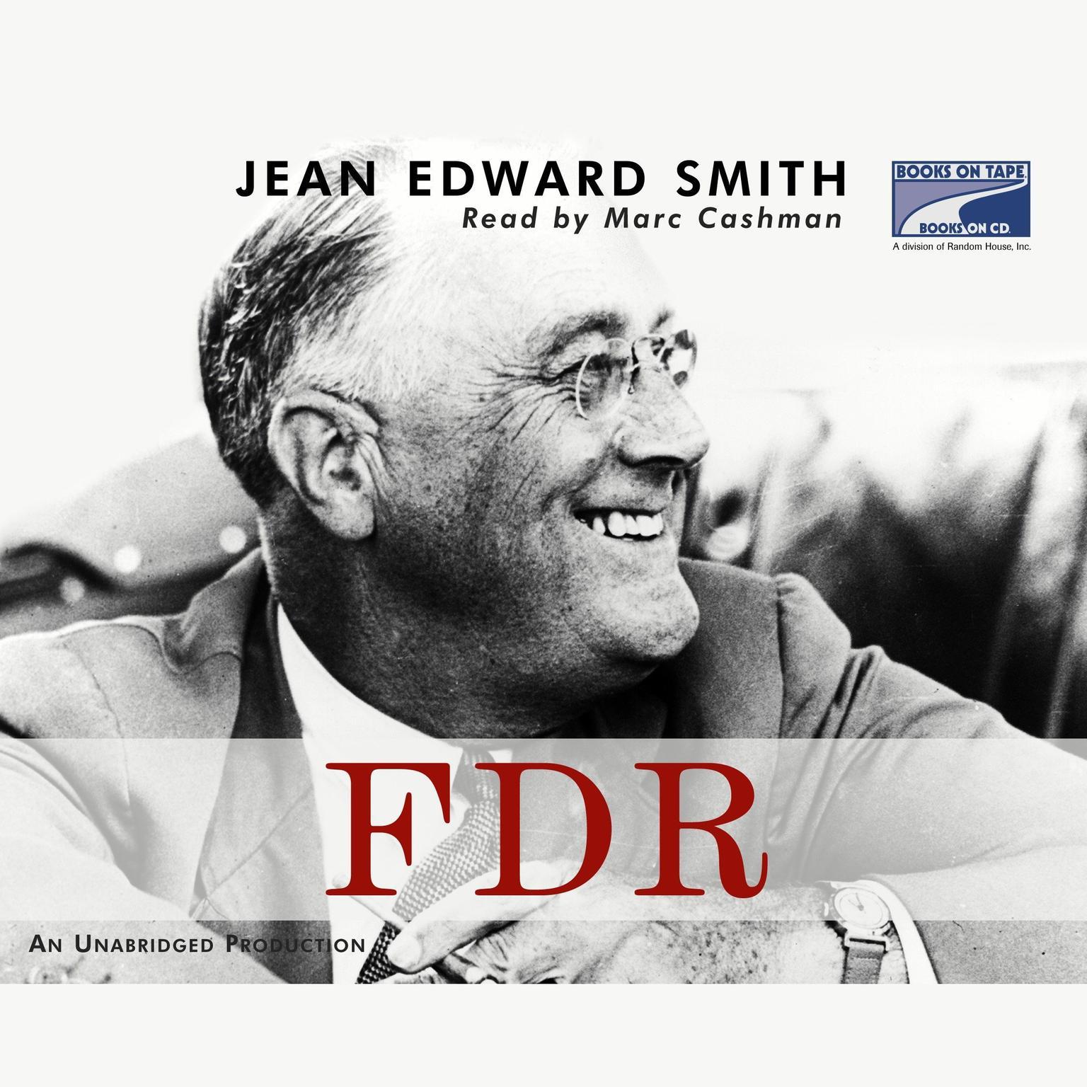 Printable FDR Audiobook Cover Art