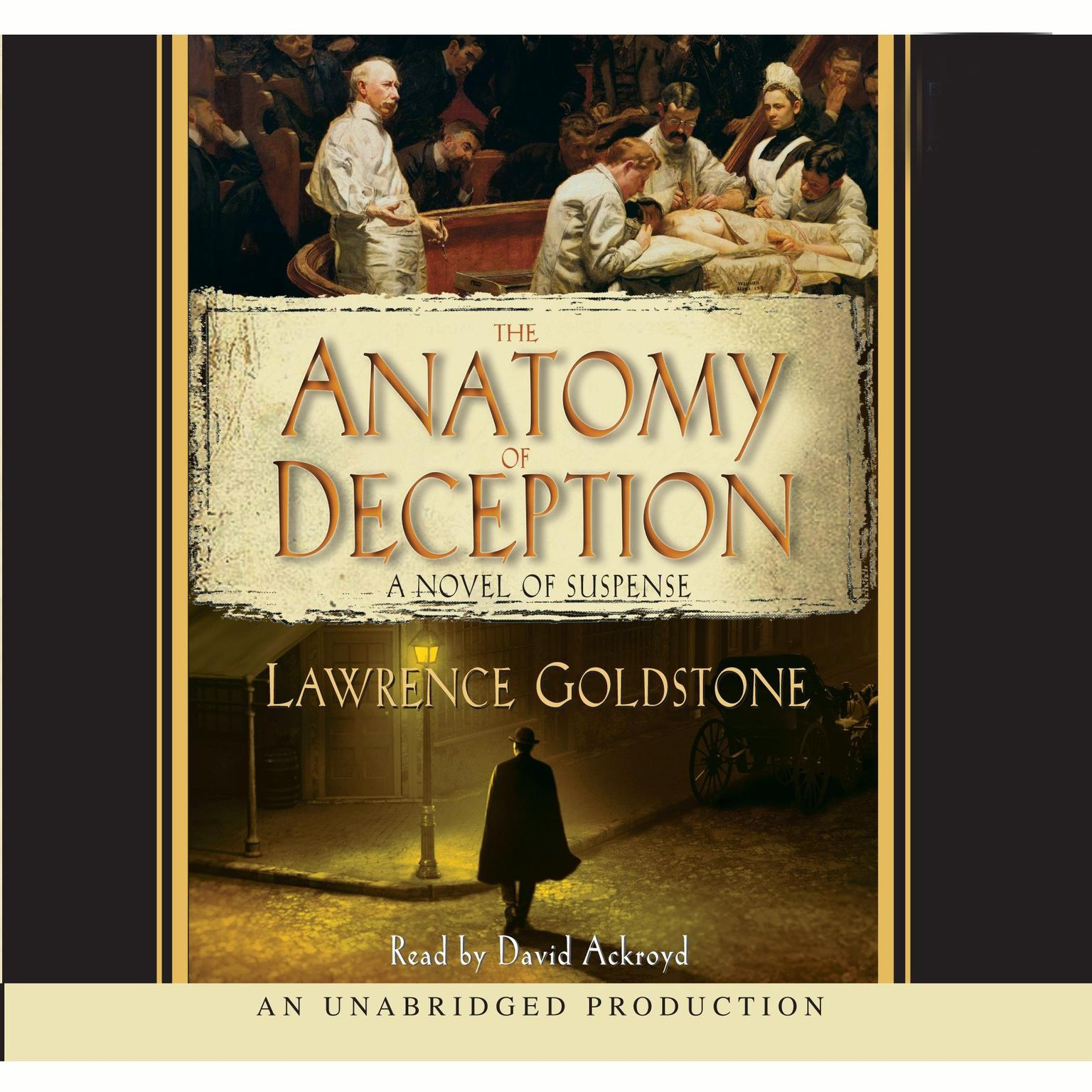 Printable The Anatomy of Deception Audiobook Cover Art
