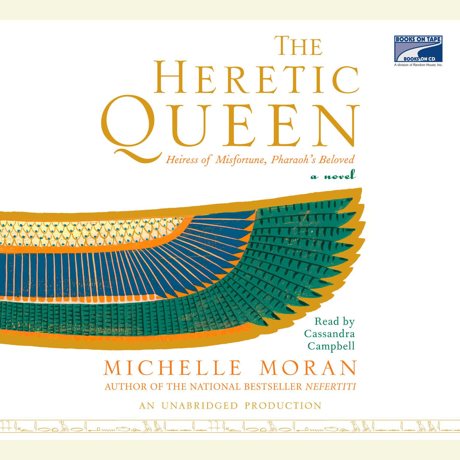 Printable The Heretic Queen: A Novel Audiobook Cover Art