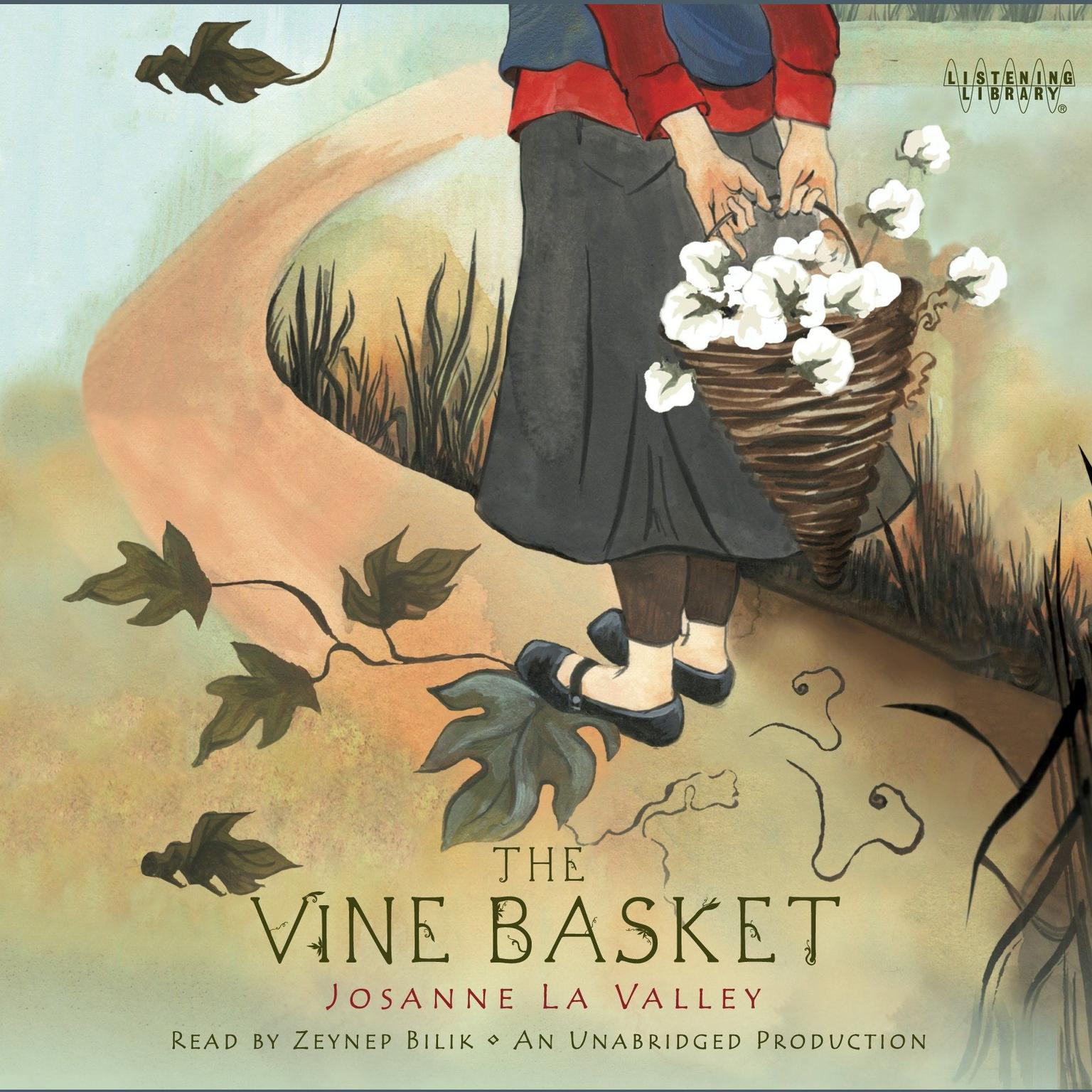 Printable The Vine Basket Audiobook Cover Art