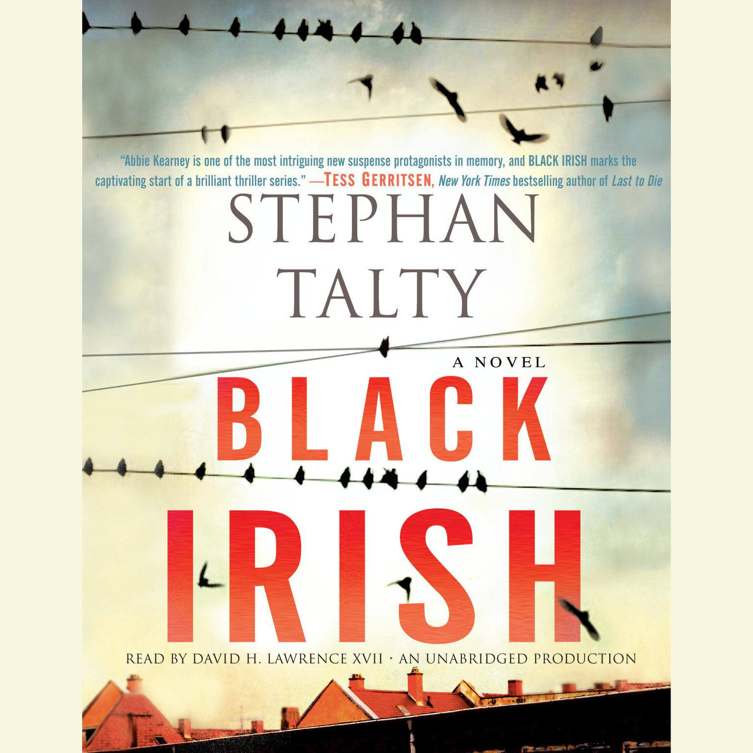 Printable Black Irish Audiobook Cover Art