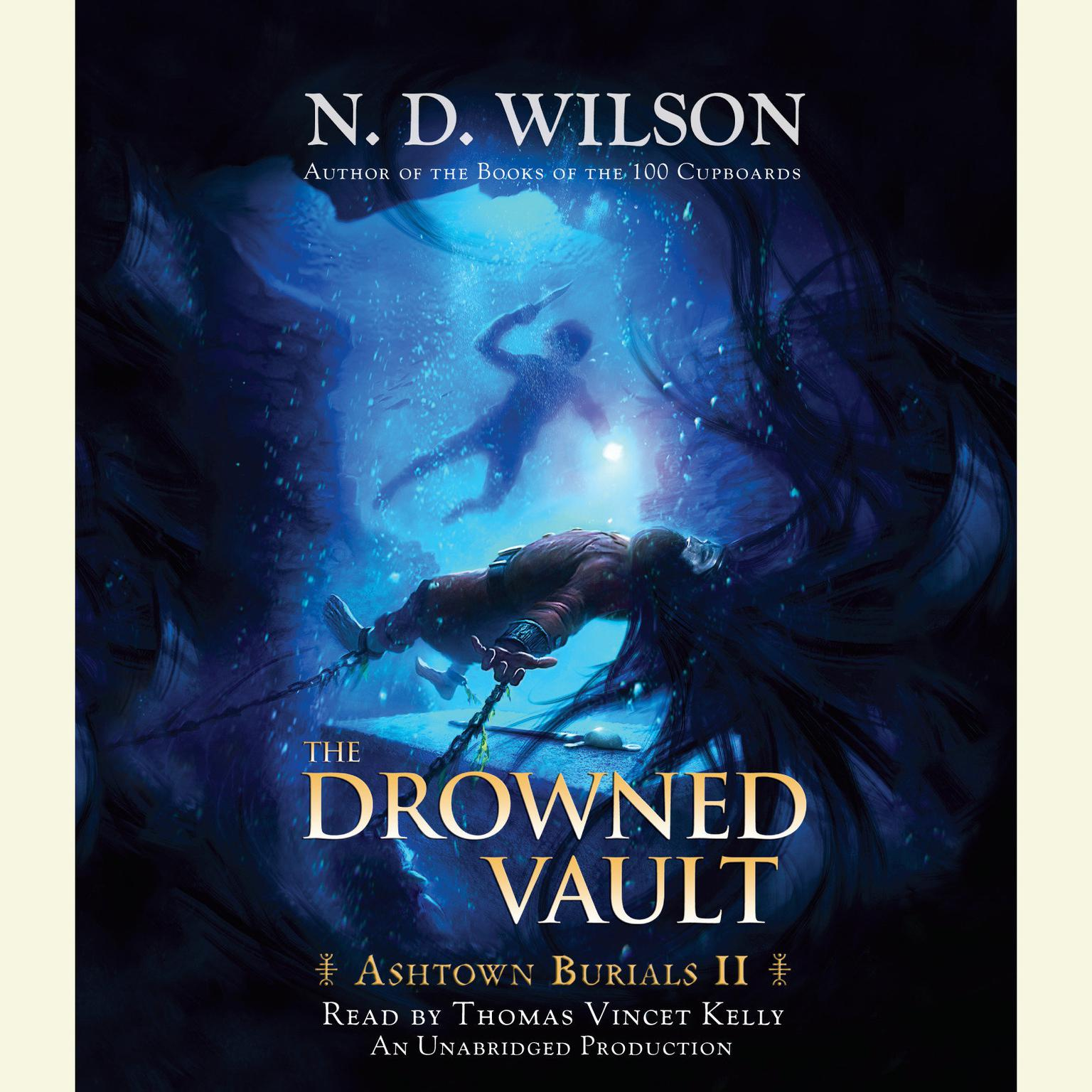 Printable The Drowned Vault: Ashtown Burials #2 Audiobook Cover Art