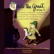 Nate the Great Collected Stories: Volume 4: Owl Express; Tardy Tortoise; King of Sweden; San Francisco Detective; Pillowcase ; Musical Note; Big Sniff; and Me; Goes Down in the Dumps; Stalks Stupidweed Audiobook, by Marjorie Weinman Sharmat, Mitchell Sharmat