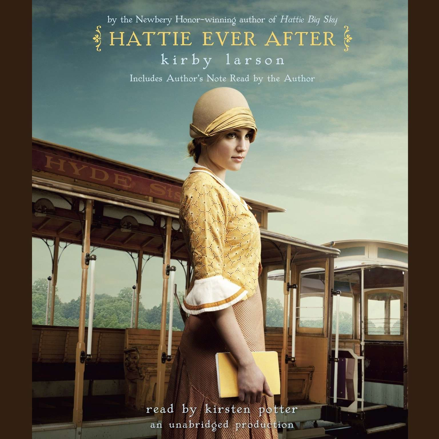Printable Hattie Ever After Audiobook Cover Art