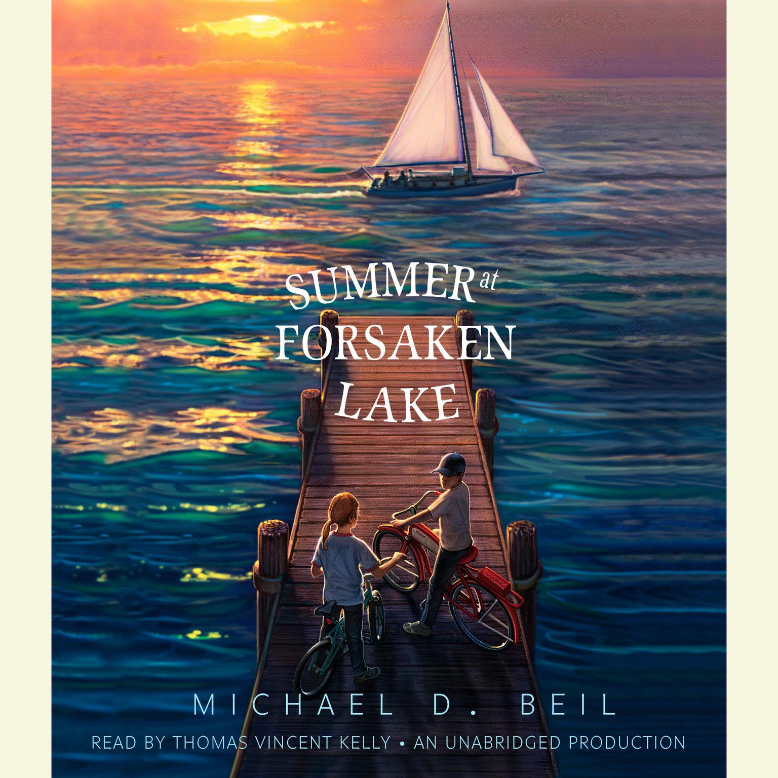 Printable Summer at Forsaken Lake Audiobook Cover Art