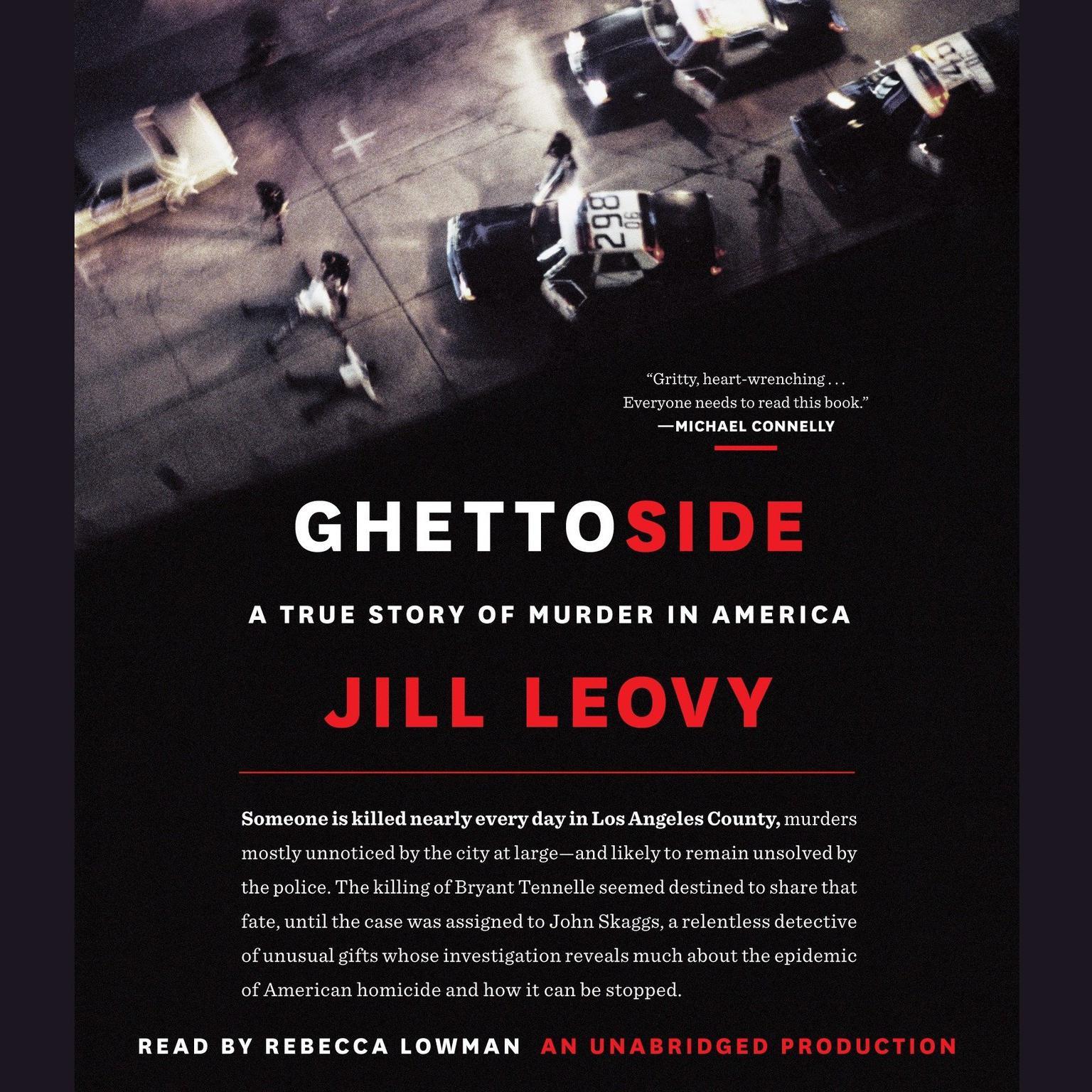Printable Ghettoside: A True Story of Murder in America Audiobook Cover Art