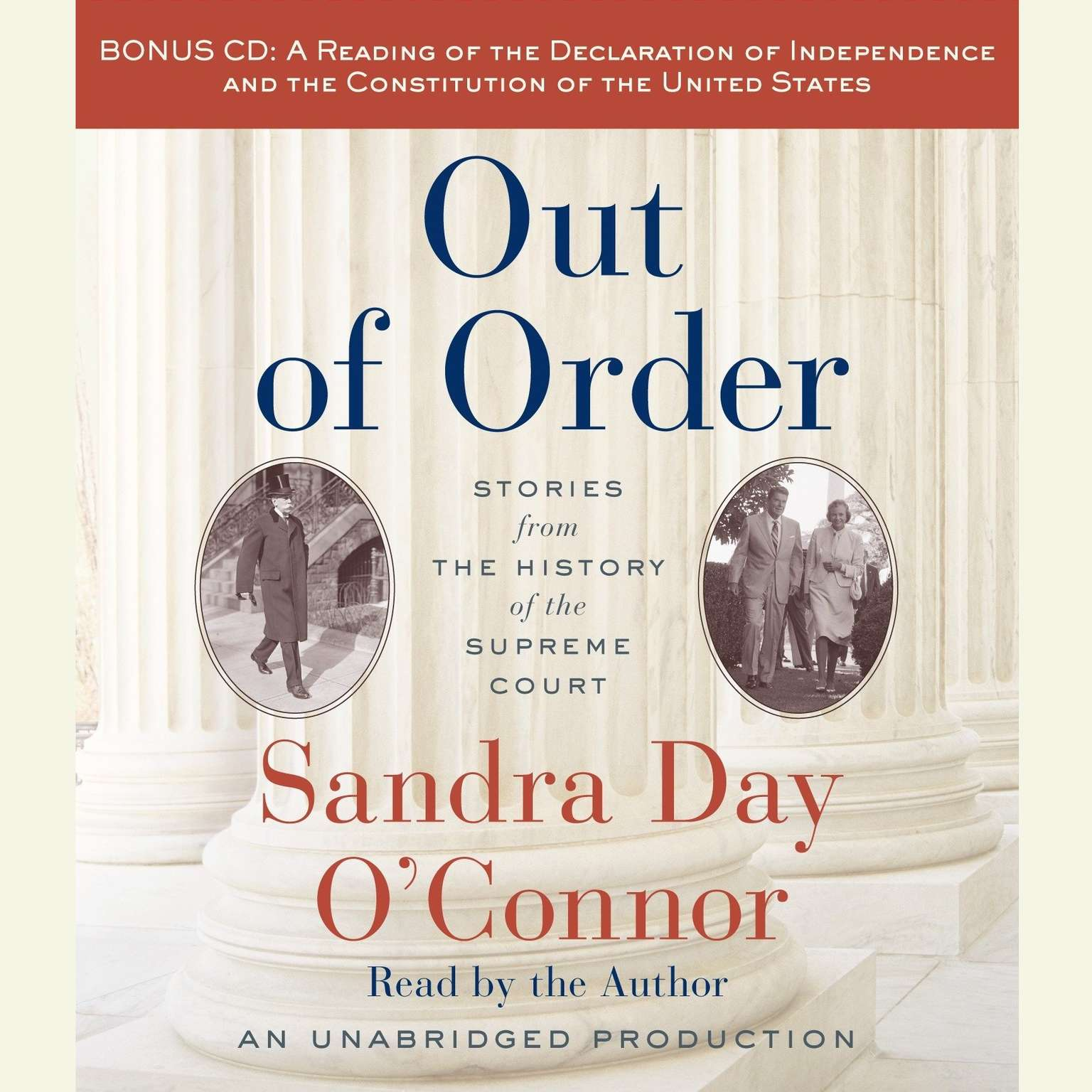 Printable Out of Order: Stories from the History of the Supreme Court Audiobook Cover Art