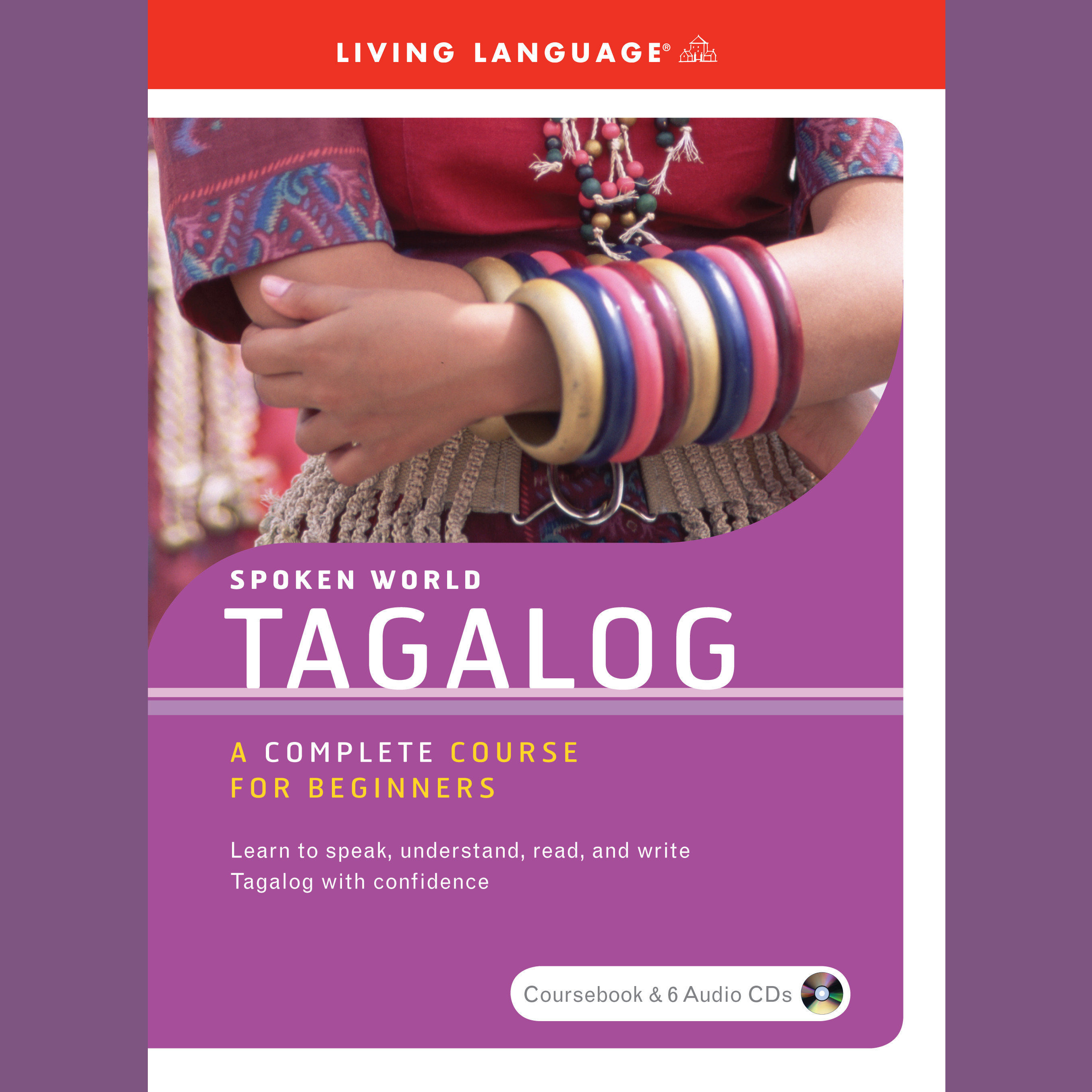 Printable Spoken World: Tagalog Audiobook Cover Art
