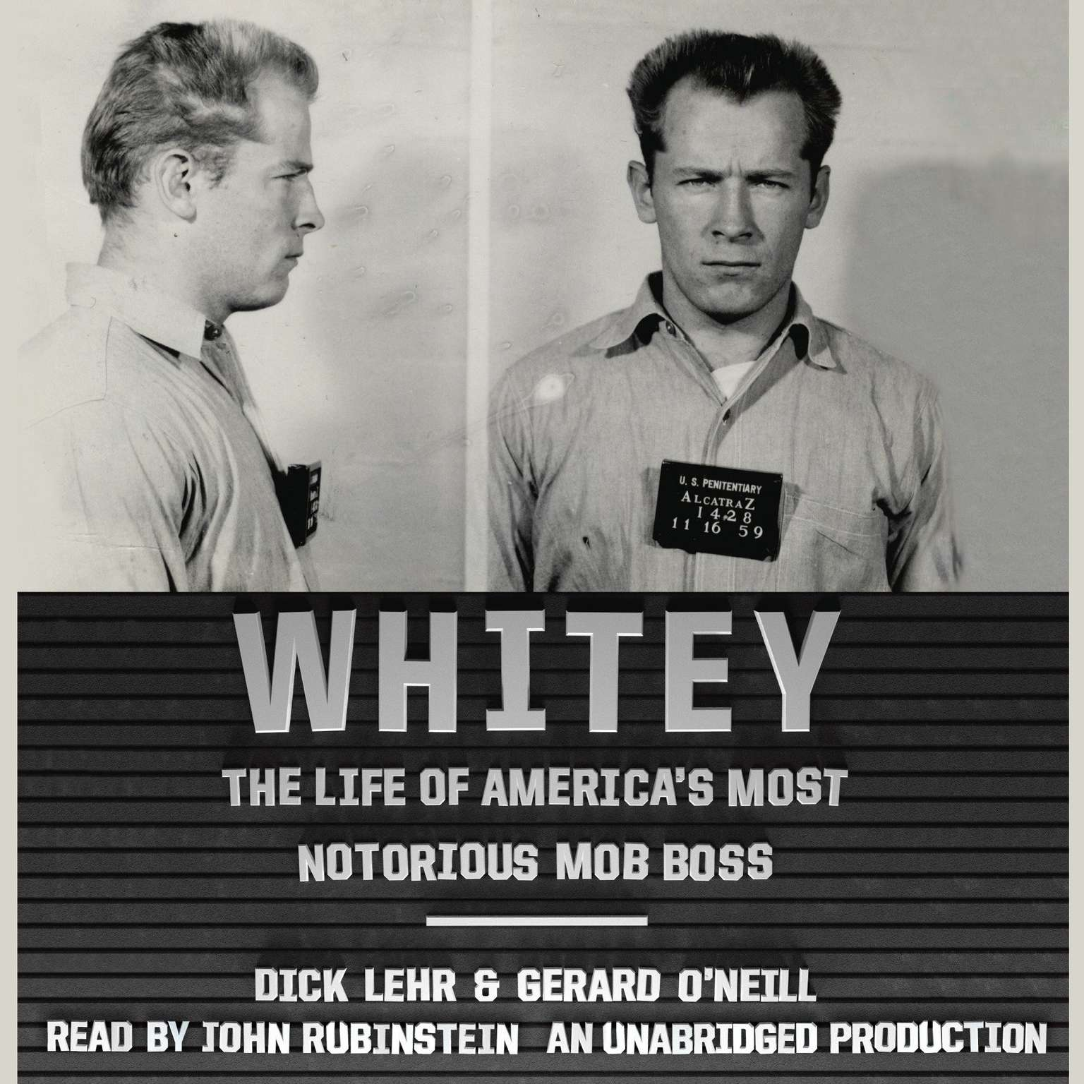 Printable Whitey: The Life of America's Most Notorious Mob Boss Audiobook Cover Art