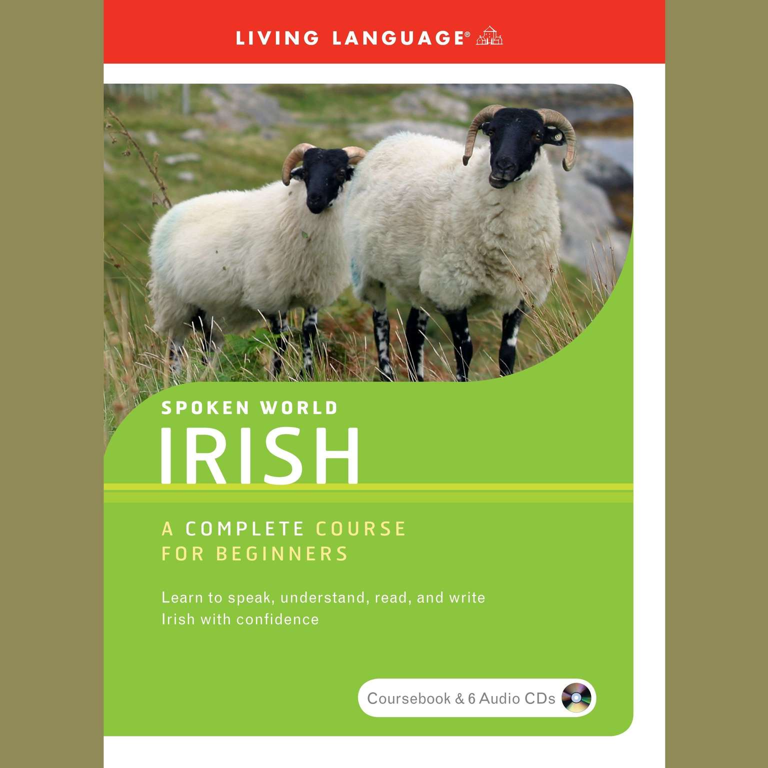 Printable Spoken World: Irish Audiobook Cover Art