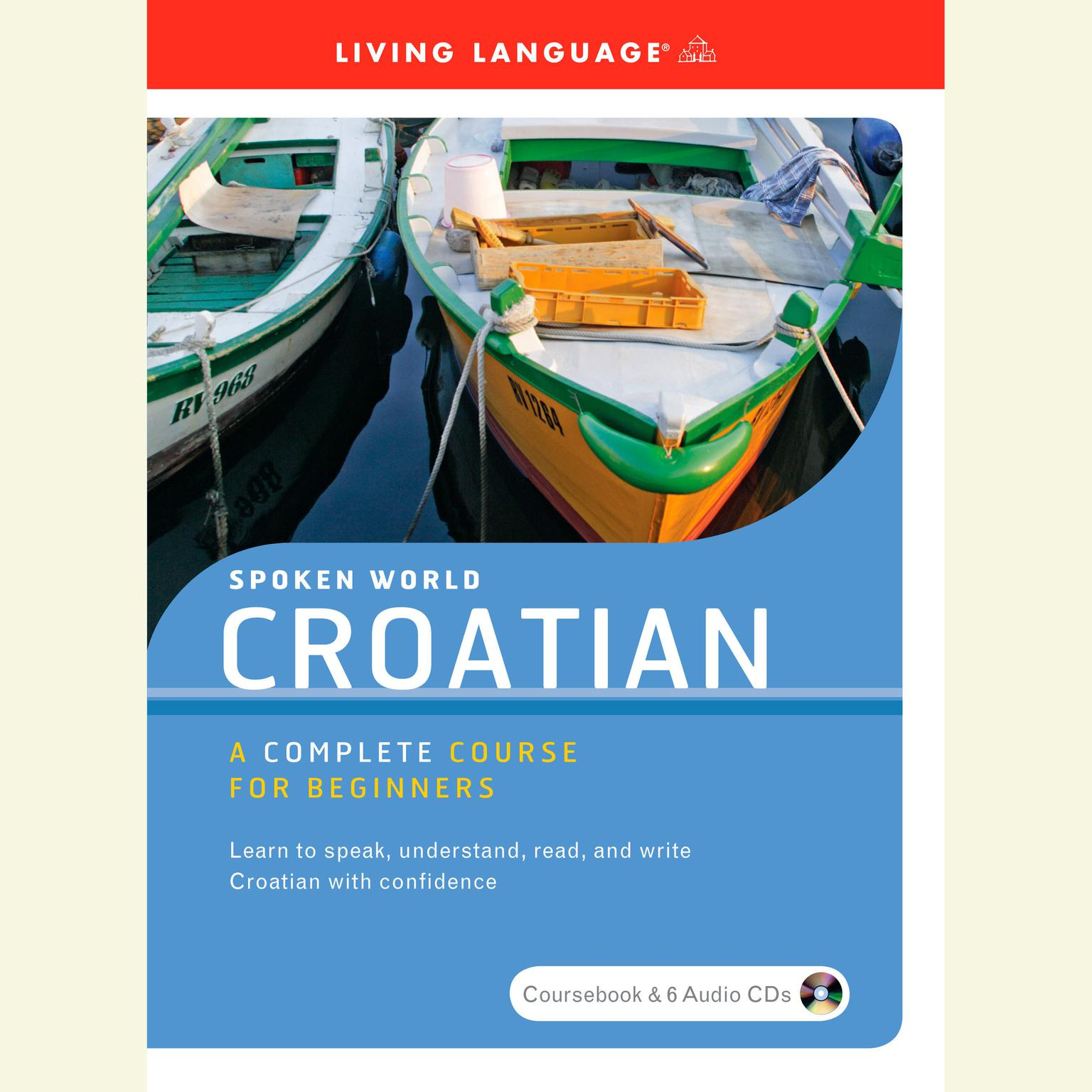 Printable Spoken World: Croatian Audiobook Cover Art