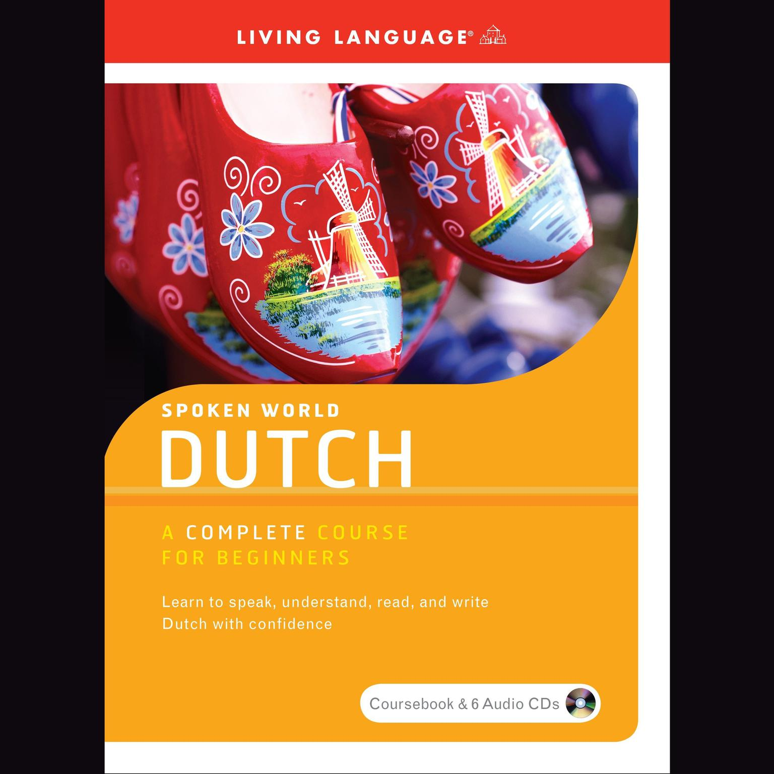Printable Spoken World: Dutch Audiobook Cover Art