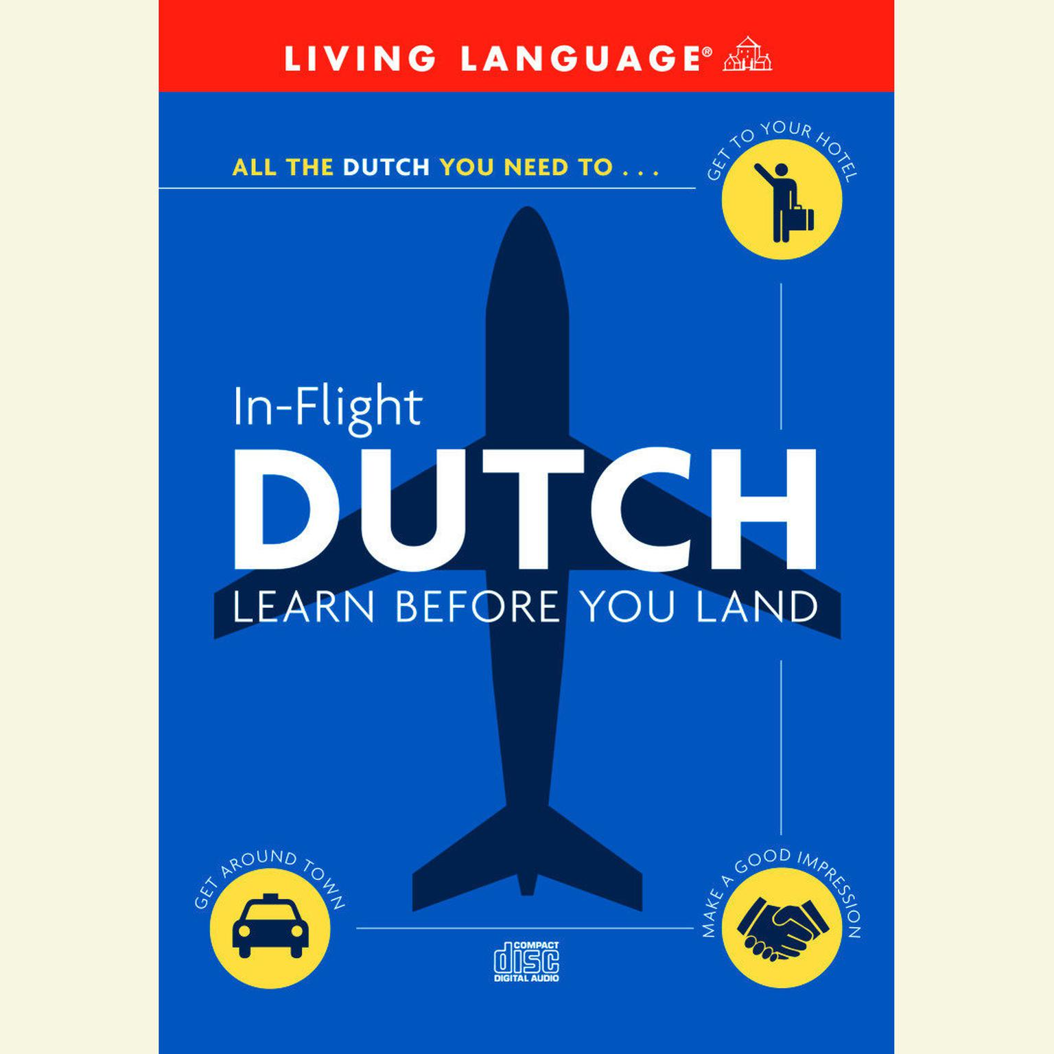 Printable In-Flight Dutch: Learn Before You Land Audiobook Cover Art