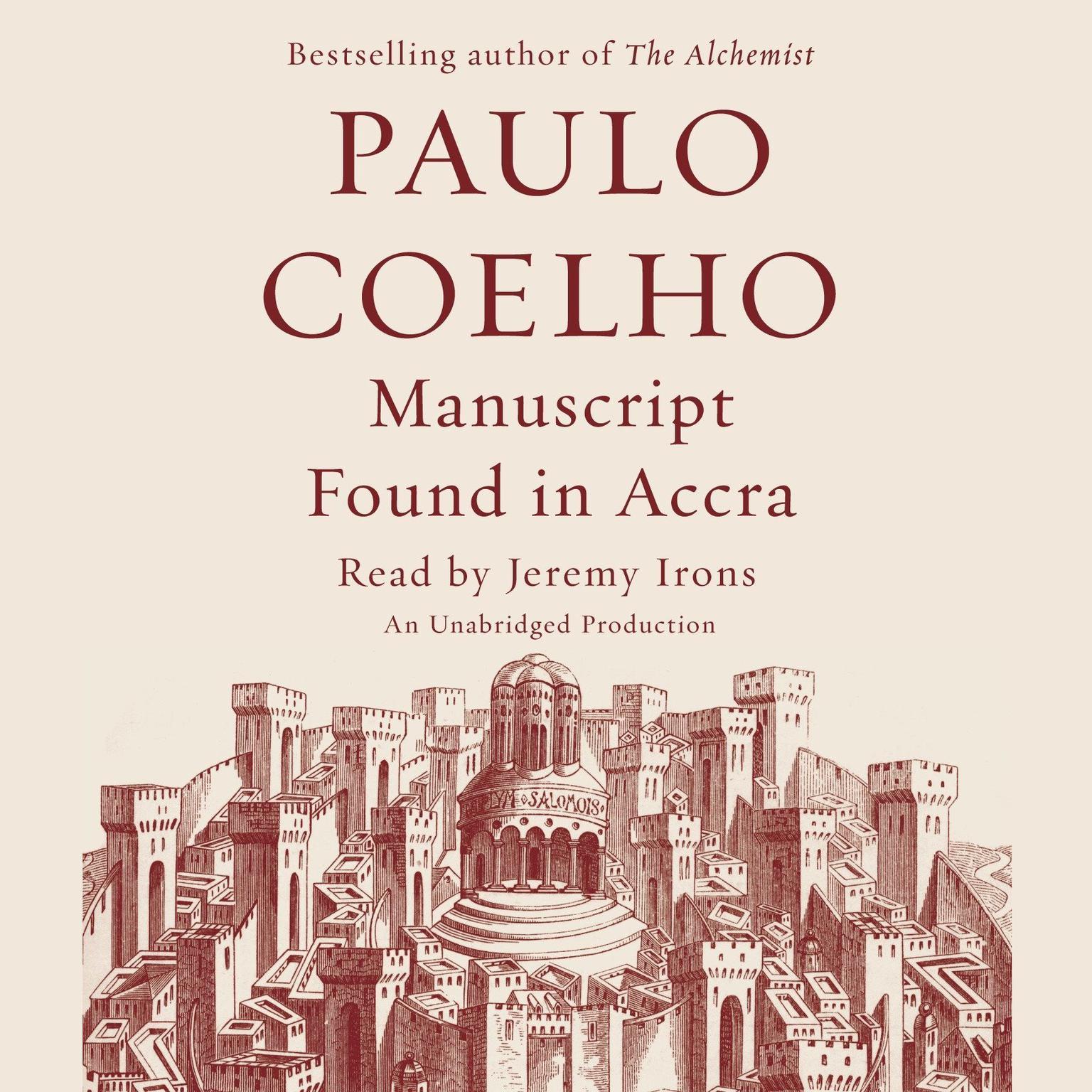 Printable Manuscript Found in Accra Audiobook Cover Art