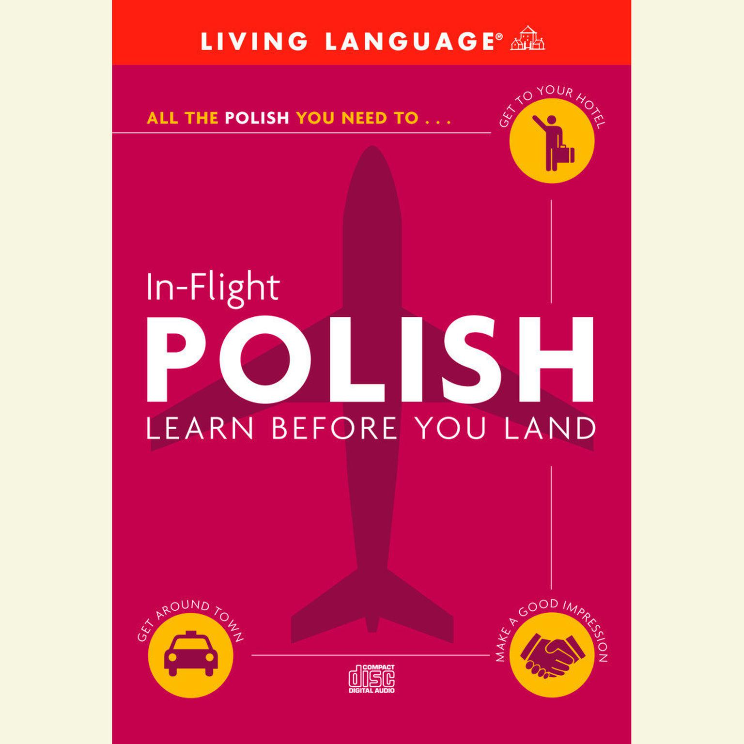 Printable In-Flight Polish: Learn before You Land Audiobook Cover Art